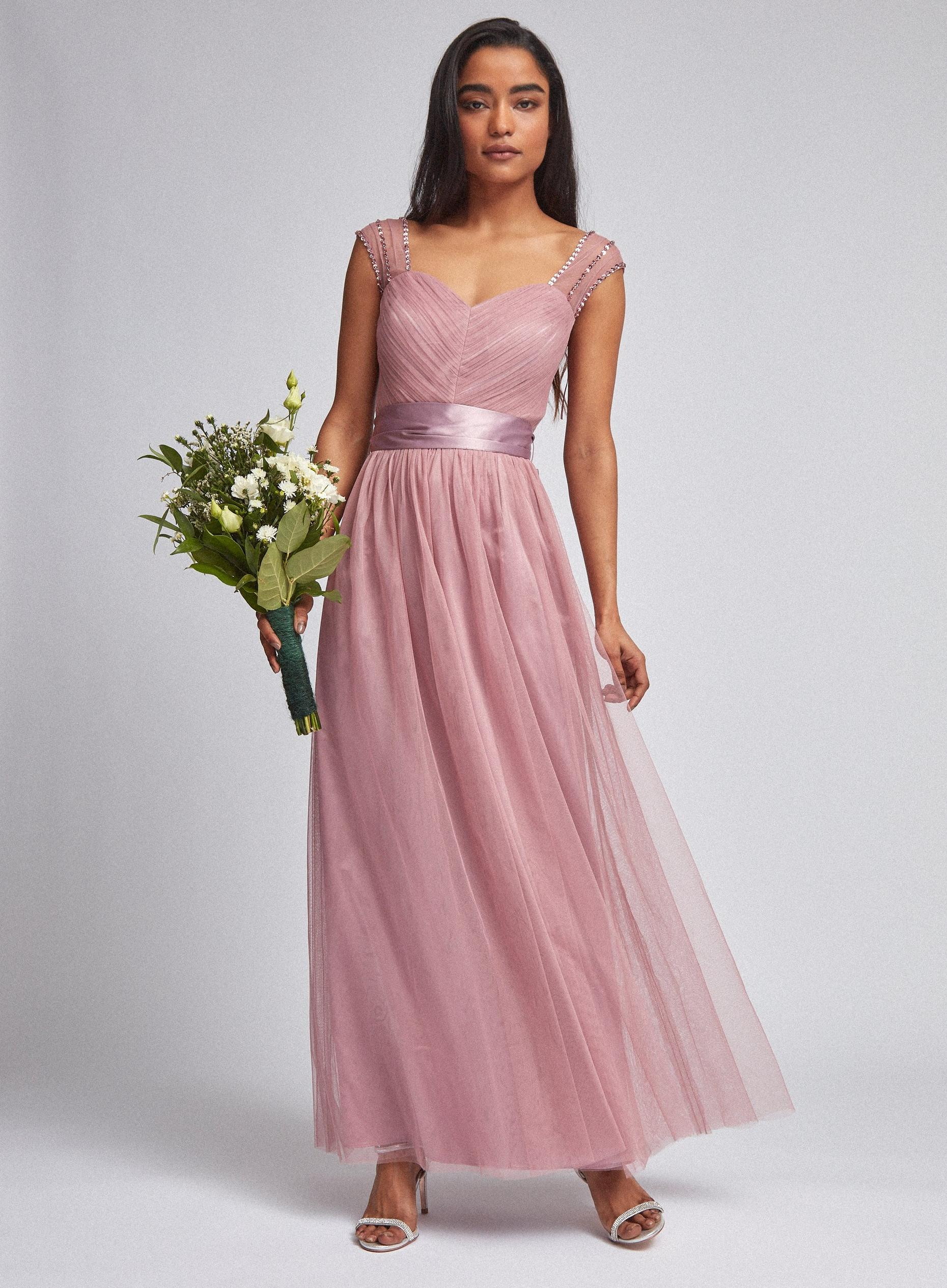 Petite Tanya Rose Pink Maxi Dress
