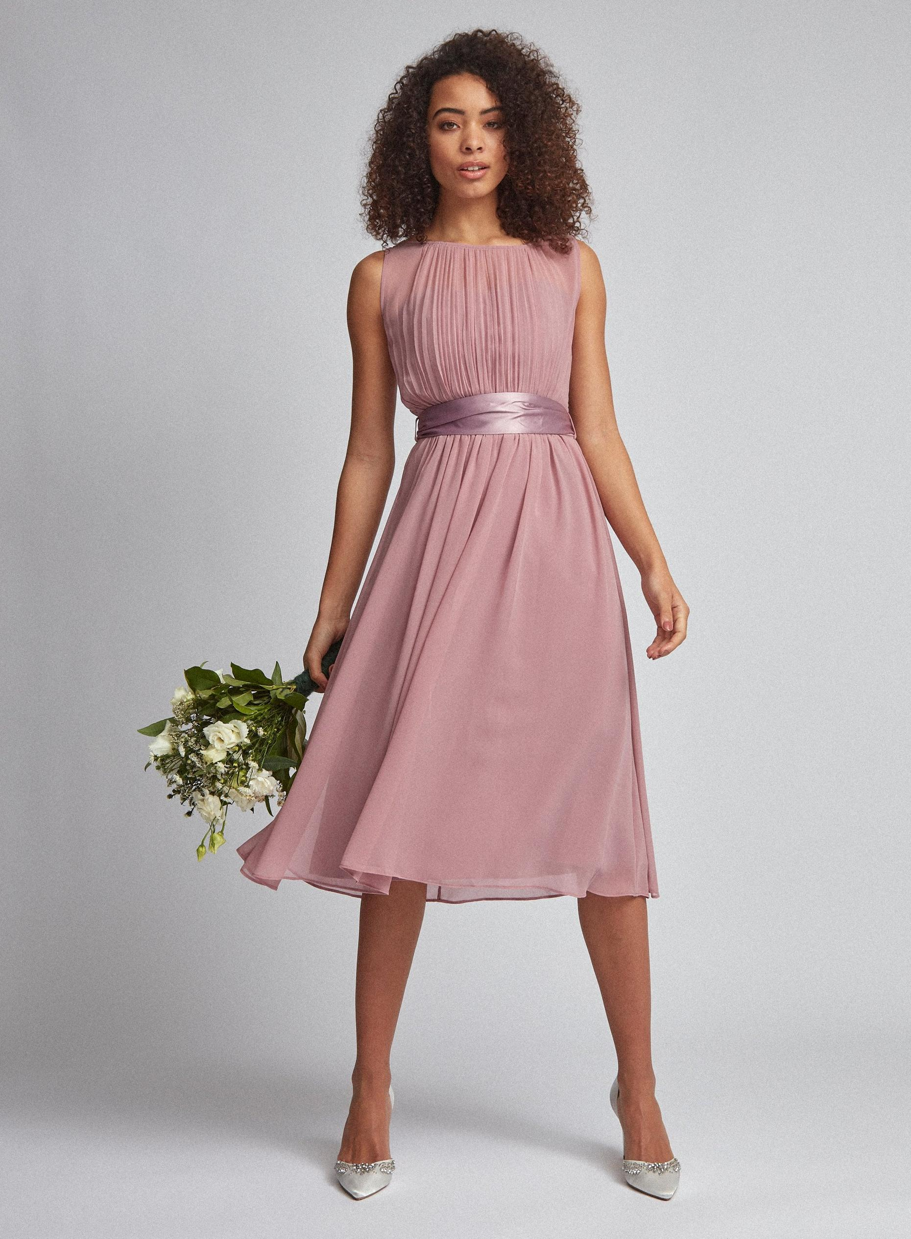 Dark Rose Bethany Bridesmaid Dress