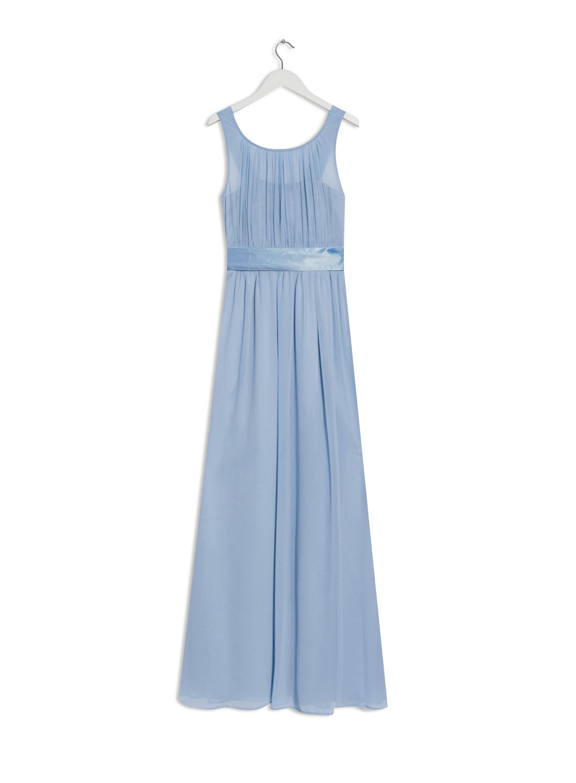 Natalie Blue Bridesmaid Maxi Dress