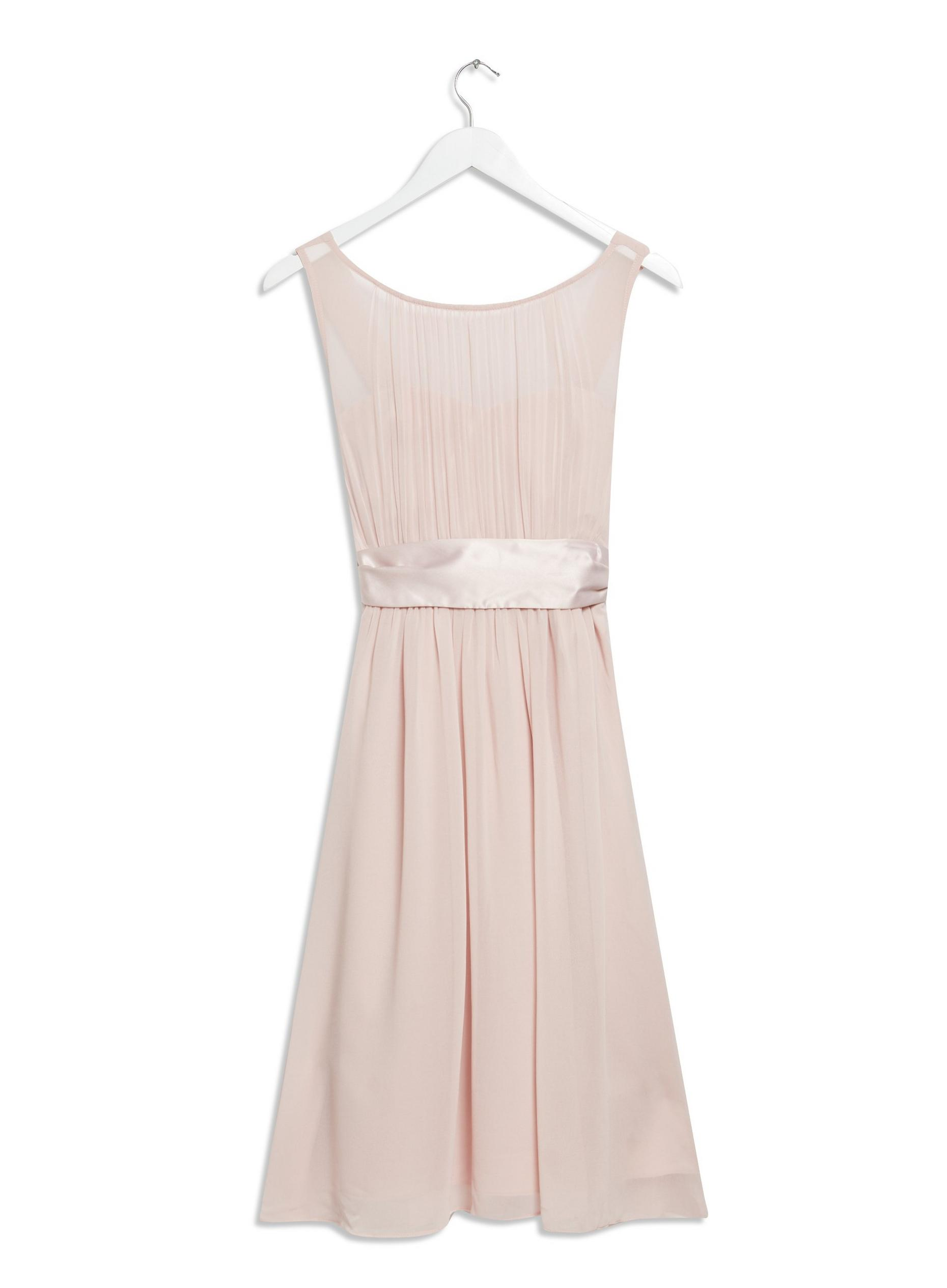 Petite Bethany Blush Midi Dress