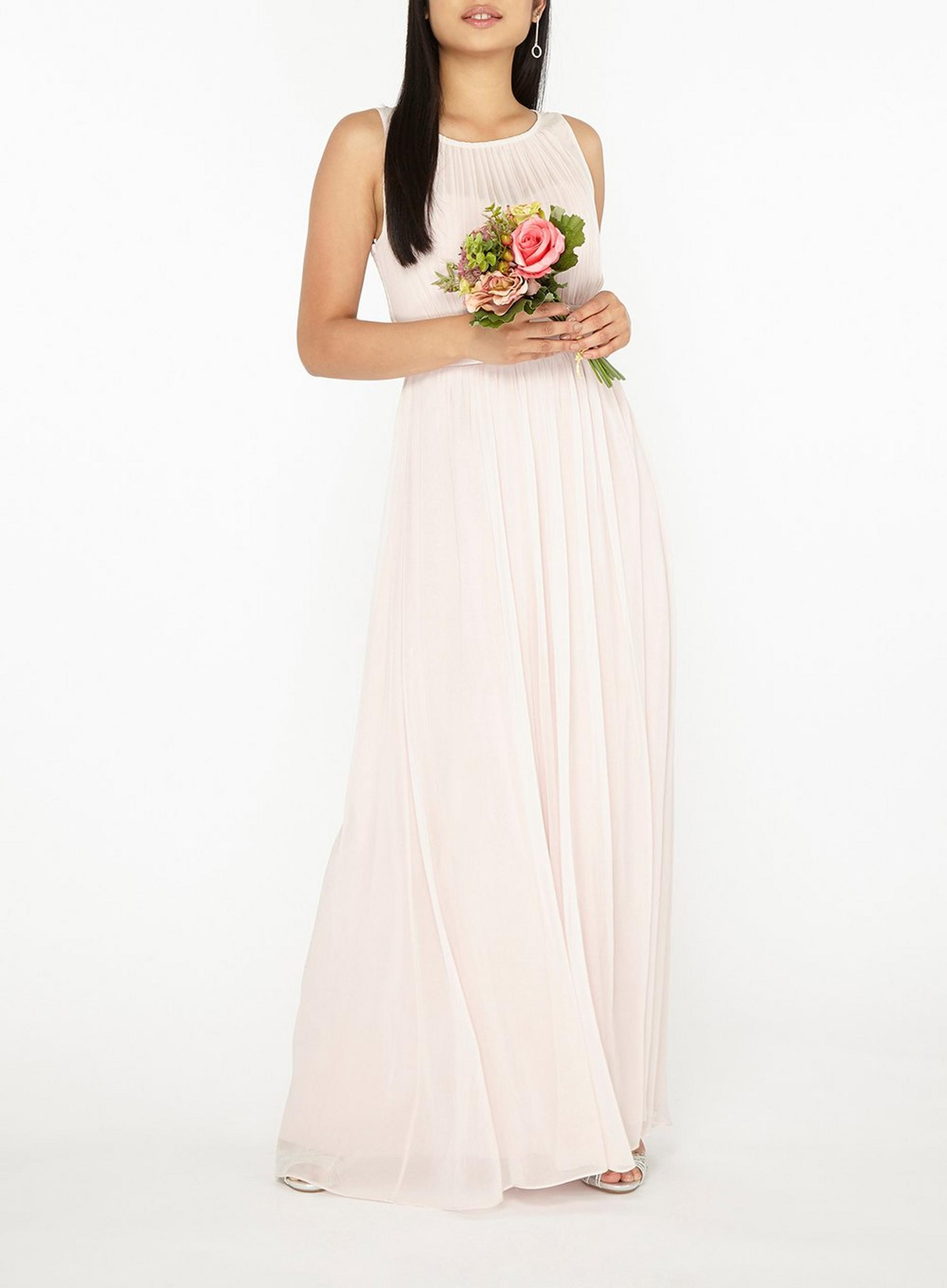 Petite Natalie Blush Maxi Dress