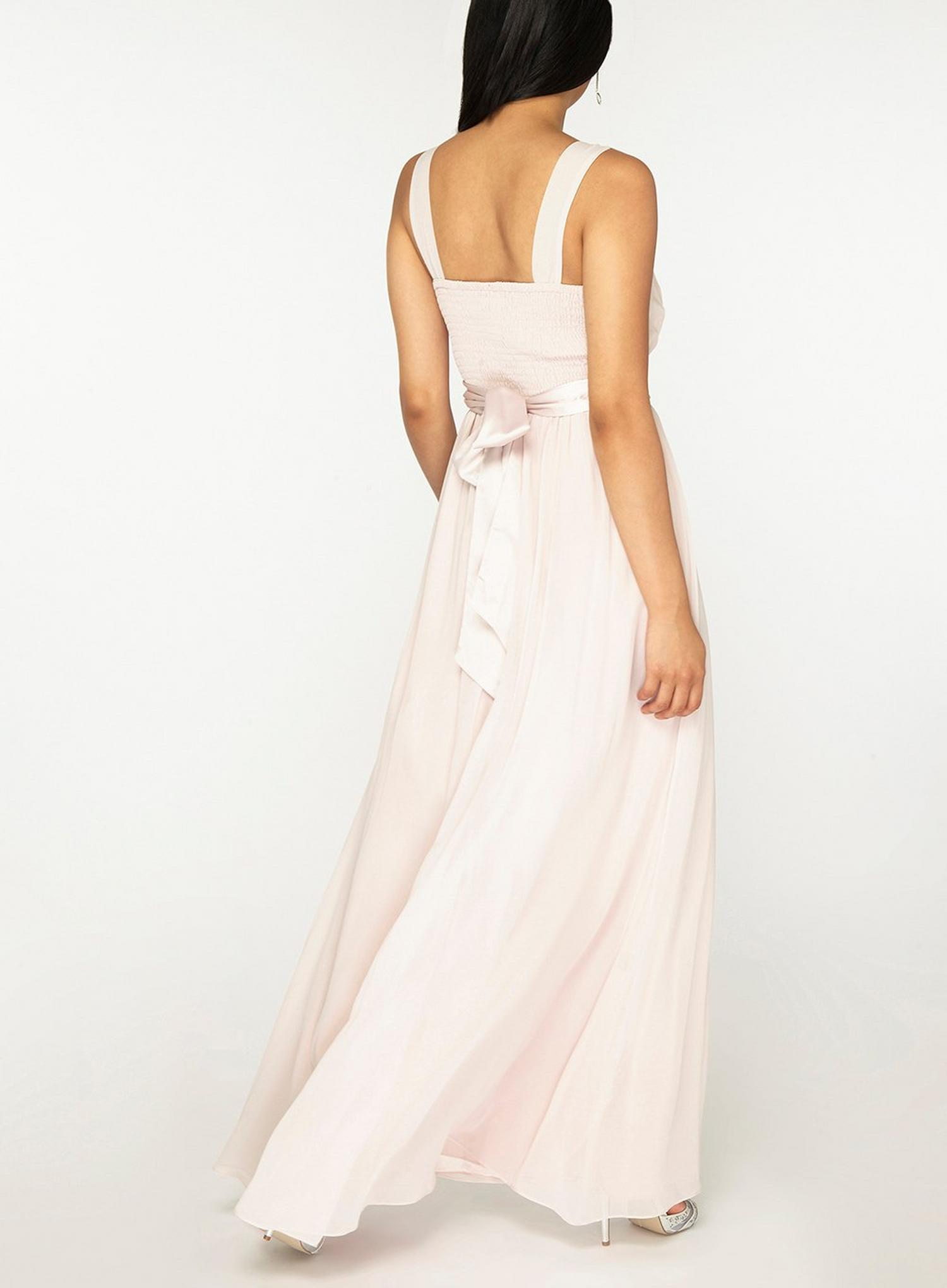 153 Petite Natalie Blush Maxi Dress image number 3