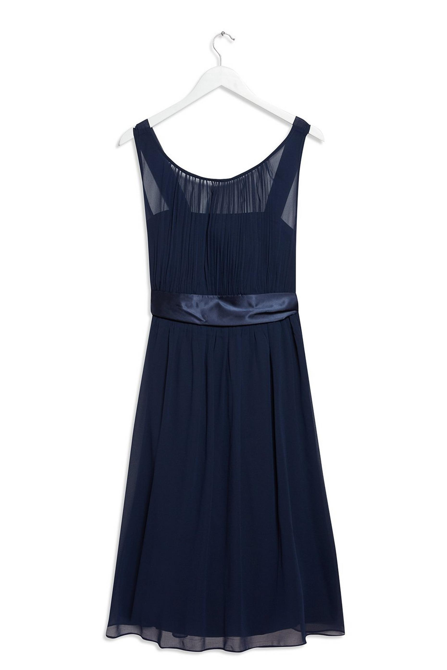 Navy Bethany Bridesmaid Midi Dress