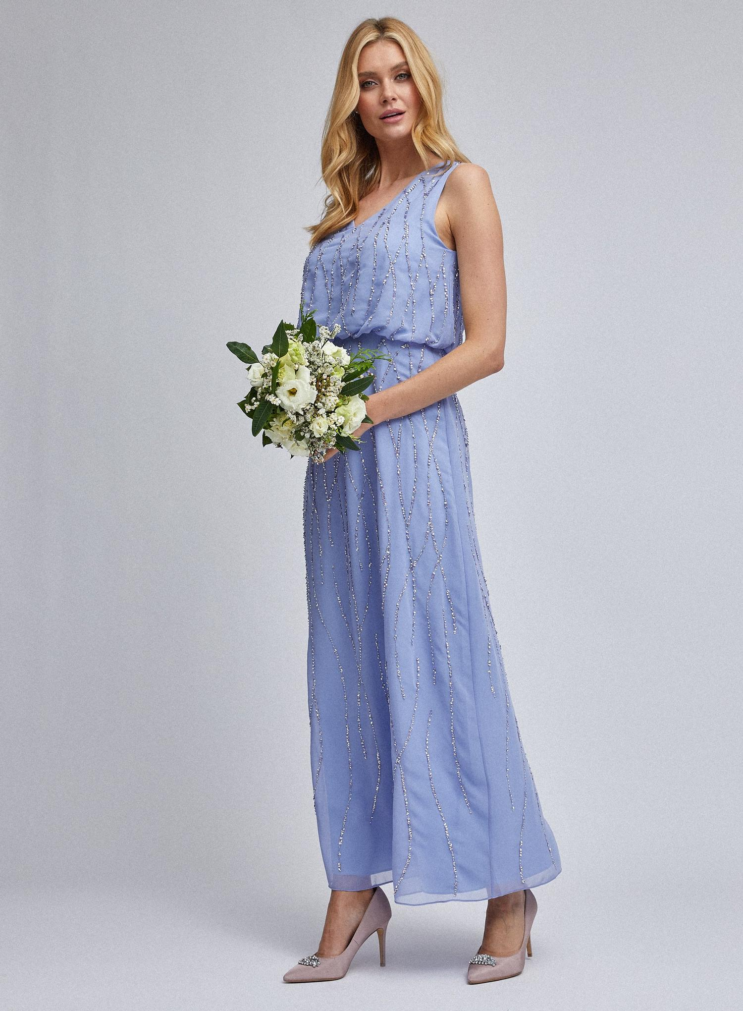 106 Cornflower Morgan Maxi Dress image number 1
