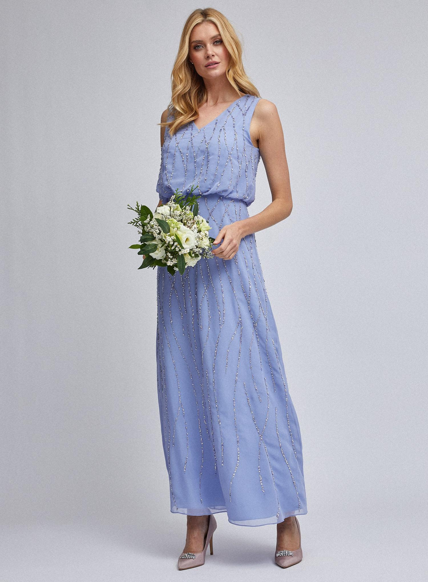 106 Cornflower Morgan Maxi Dress image number 3