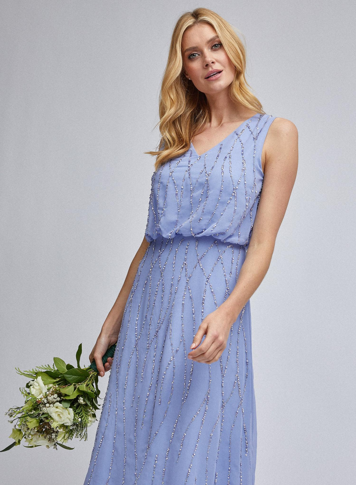 106 Cornflower Morgan Maxi Dress image number 4