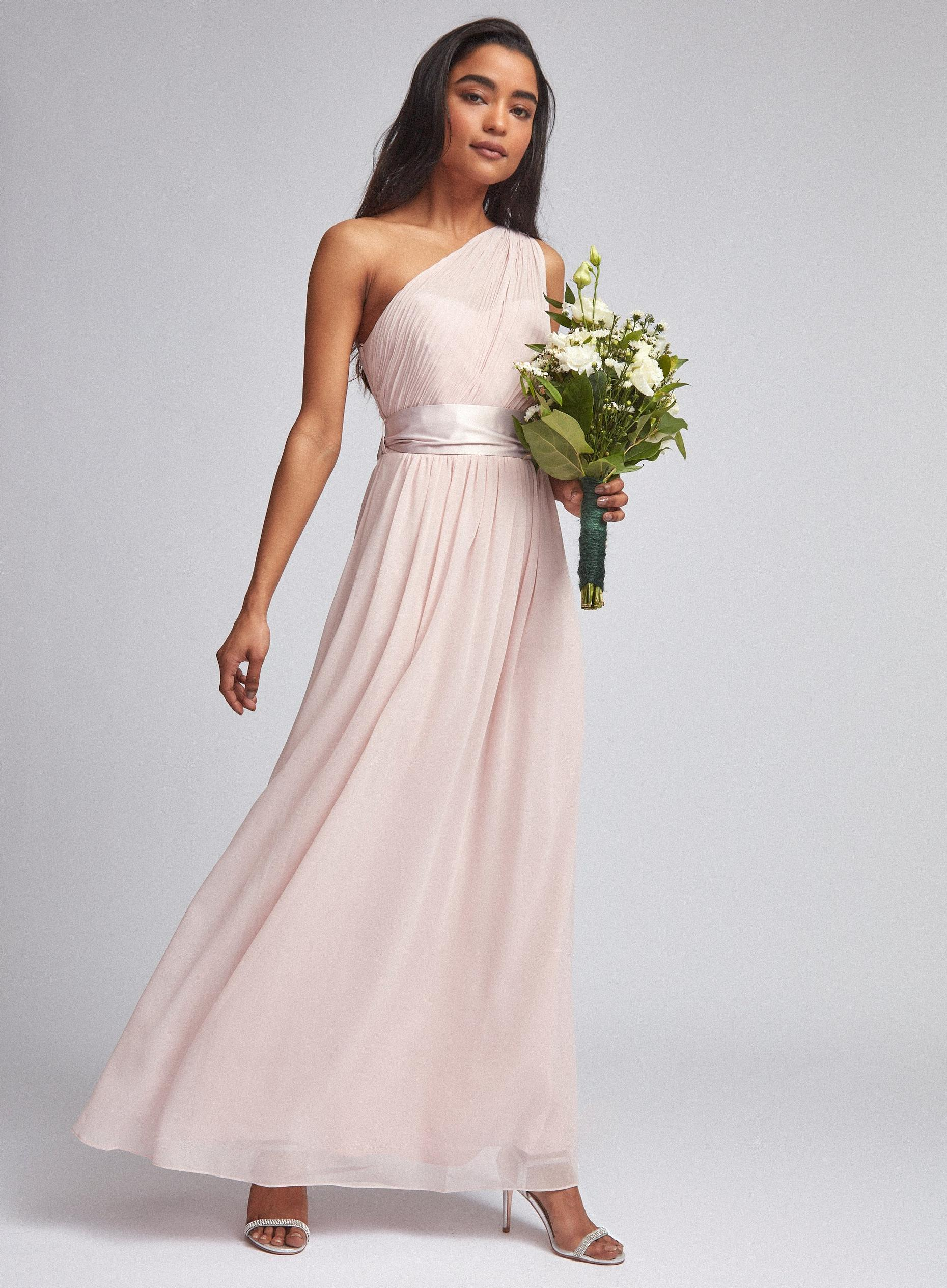 Blush Sadie Bridesmaid Maxi Dress