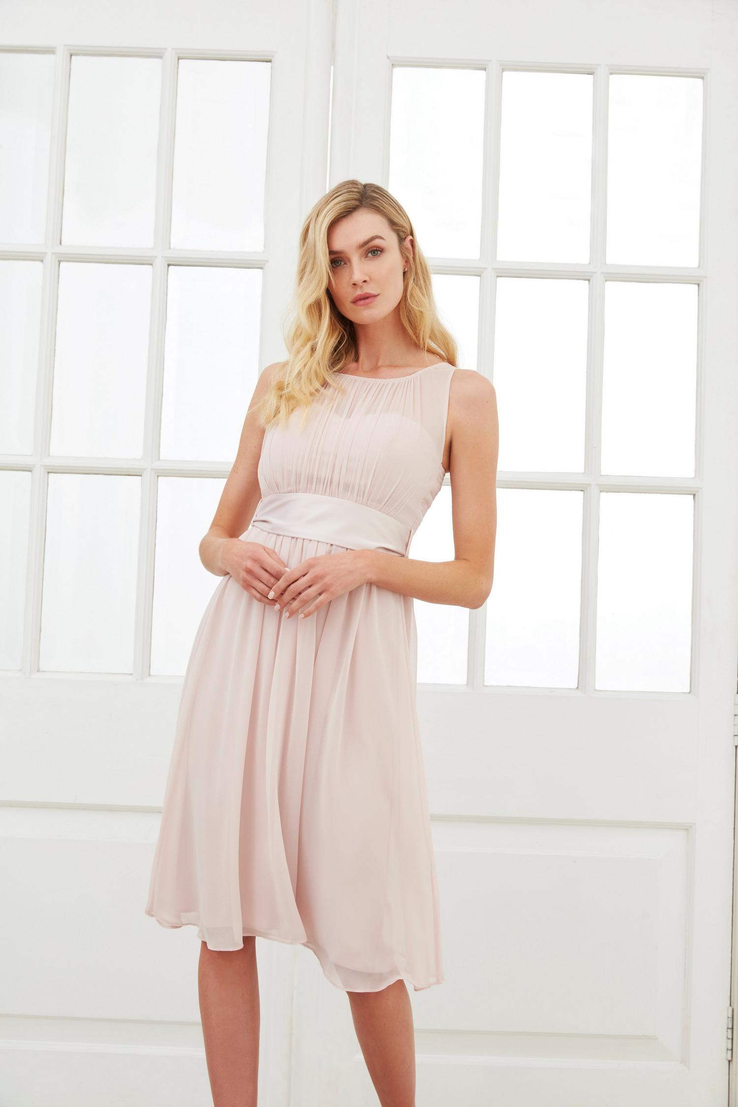 153 Bethany Blush Midi Dress image number 2