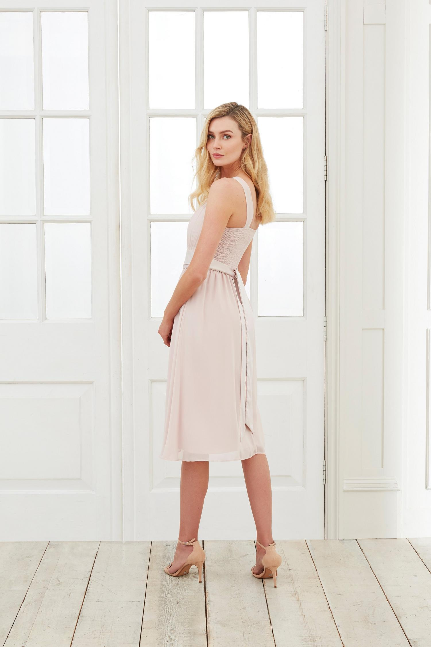 153 Bethany Blush Midi Dress image number 3