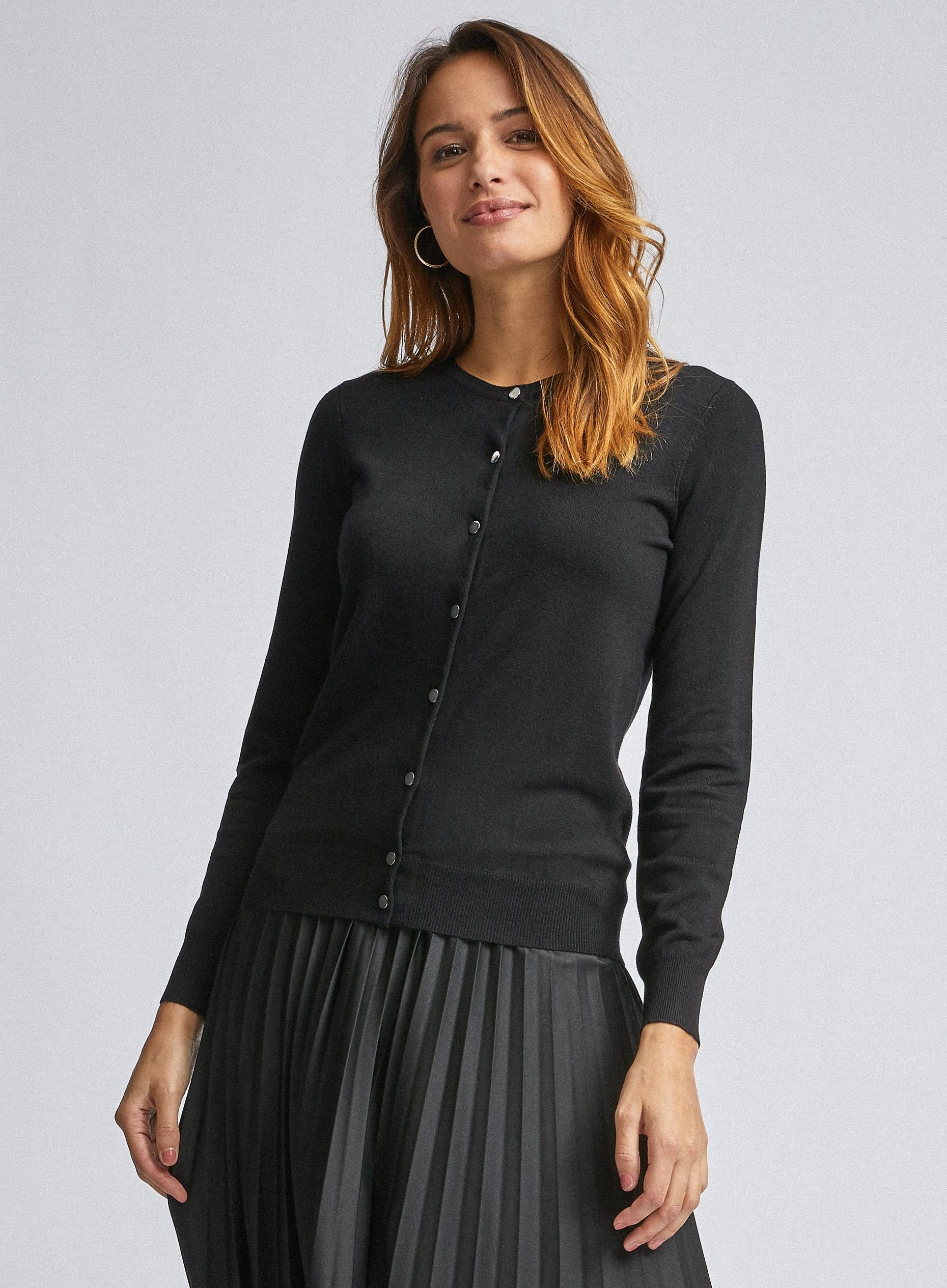 Black Core Cardigan