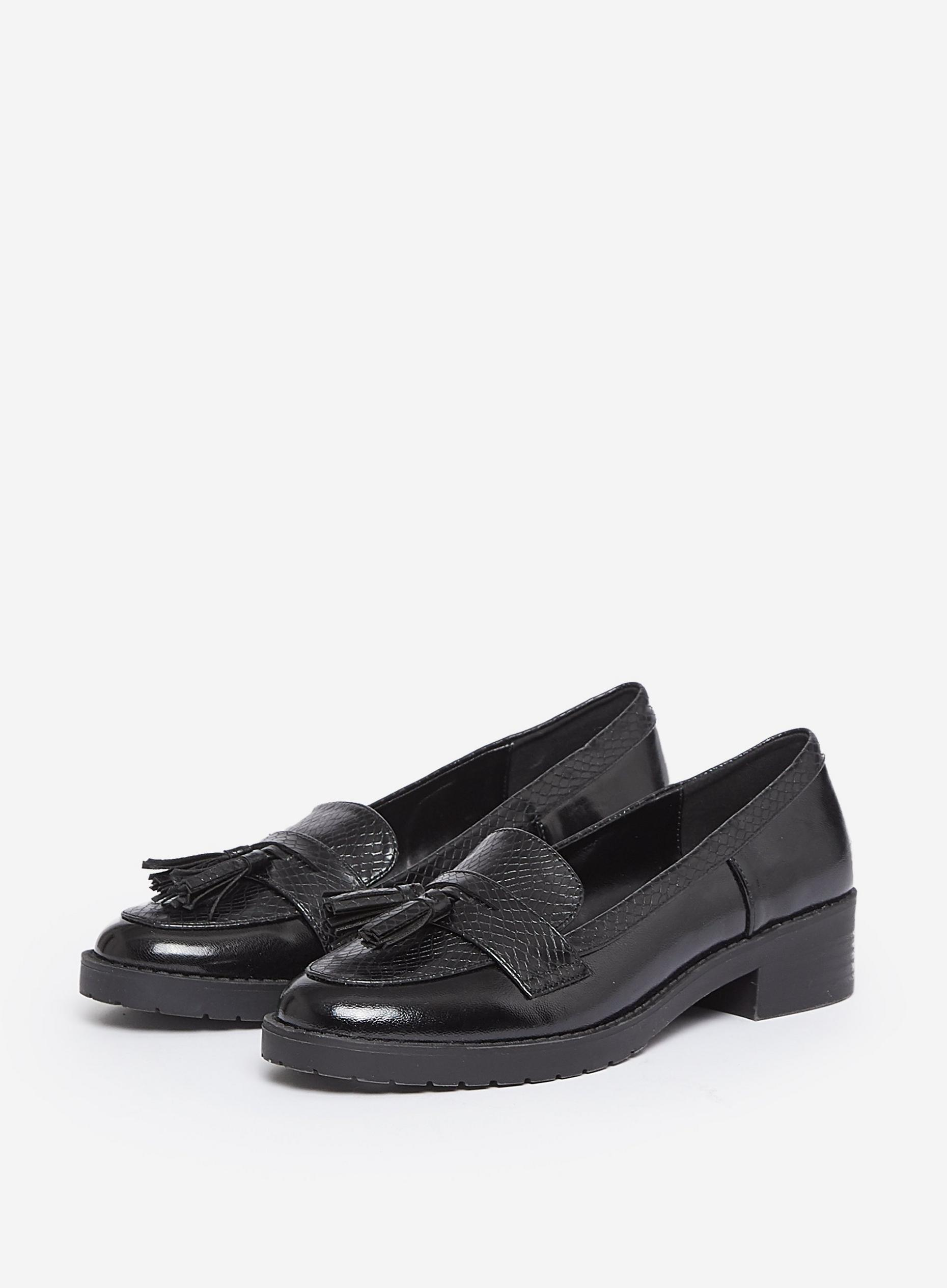 Black Litty Loafers