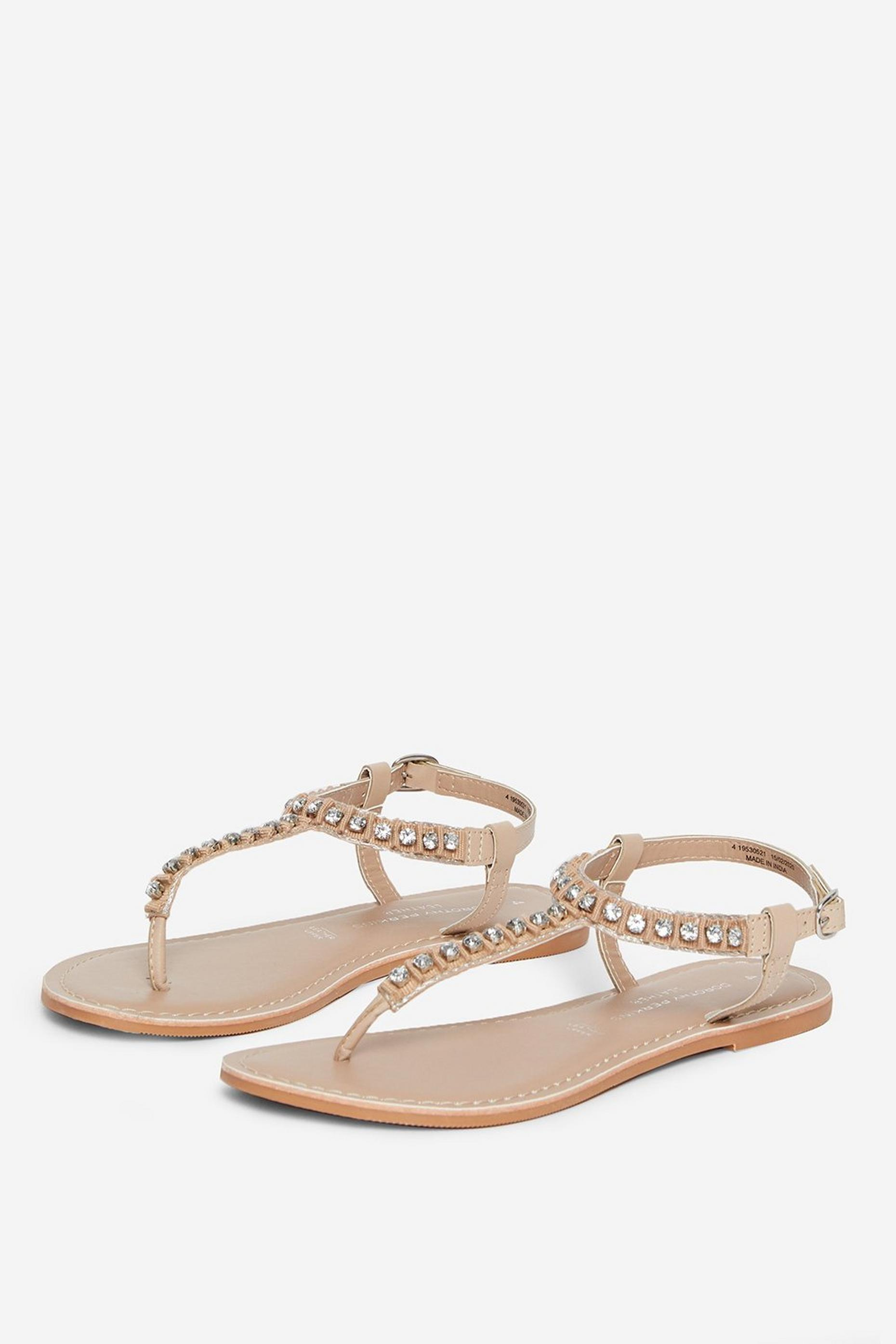 Showcase Beige Jupiter Sandals