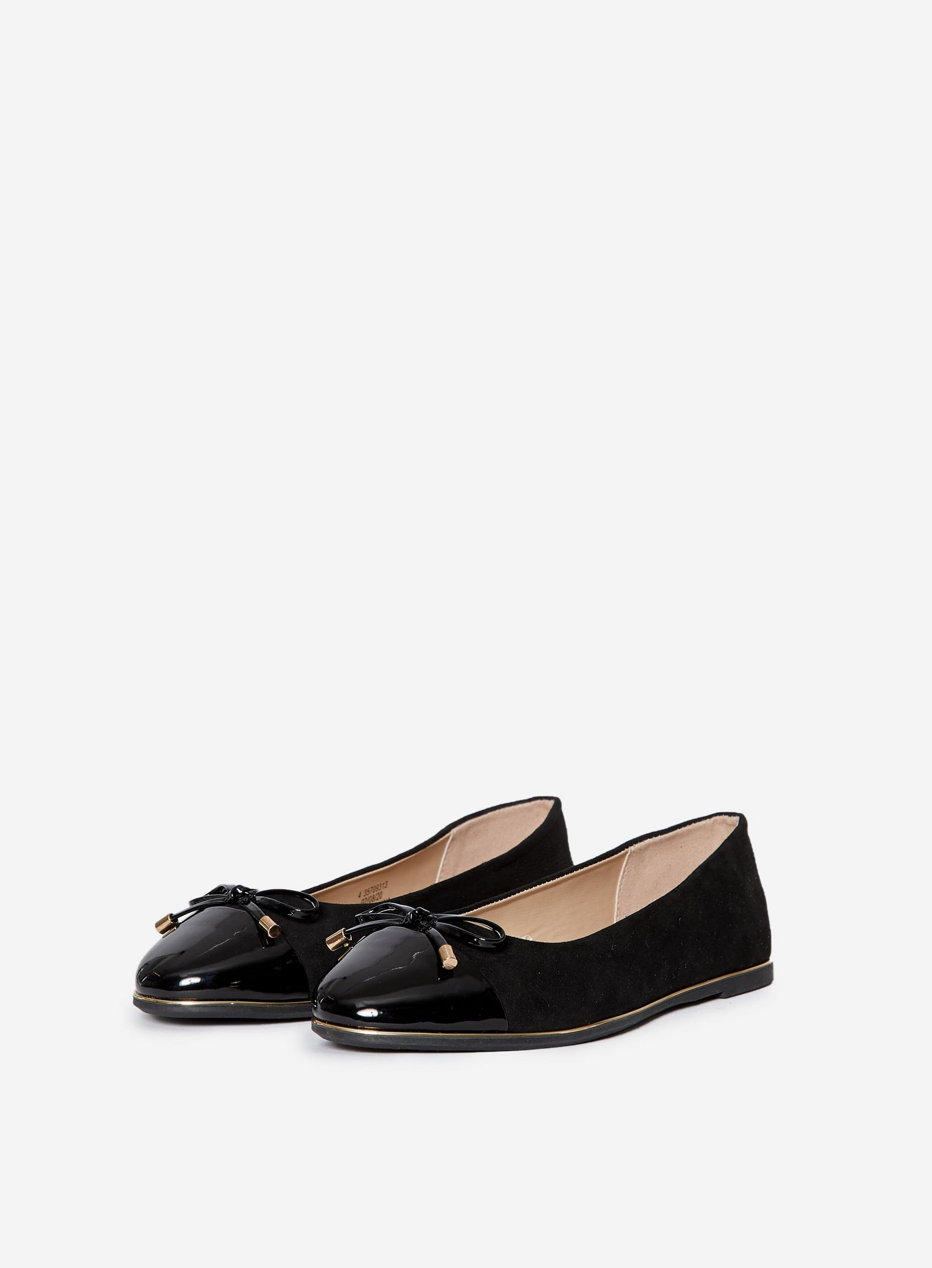Wide Fit Black Pine Pumps