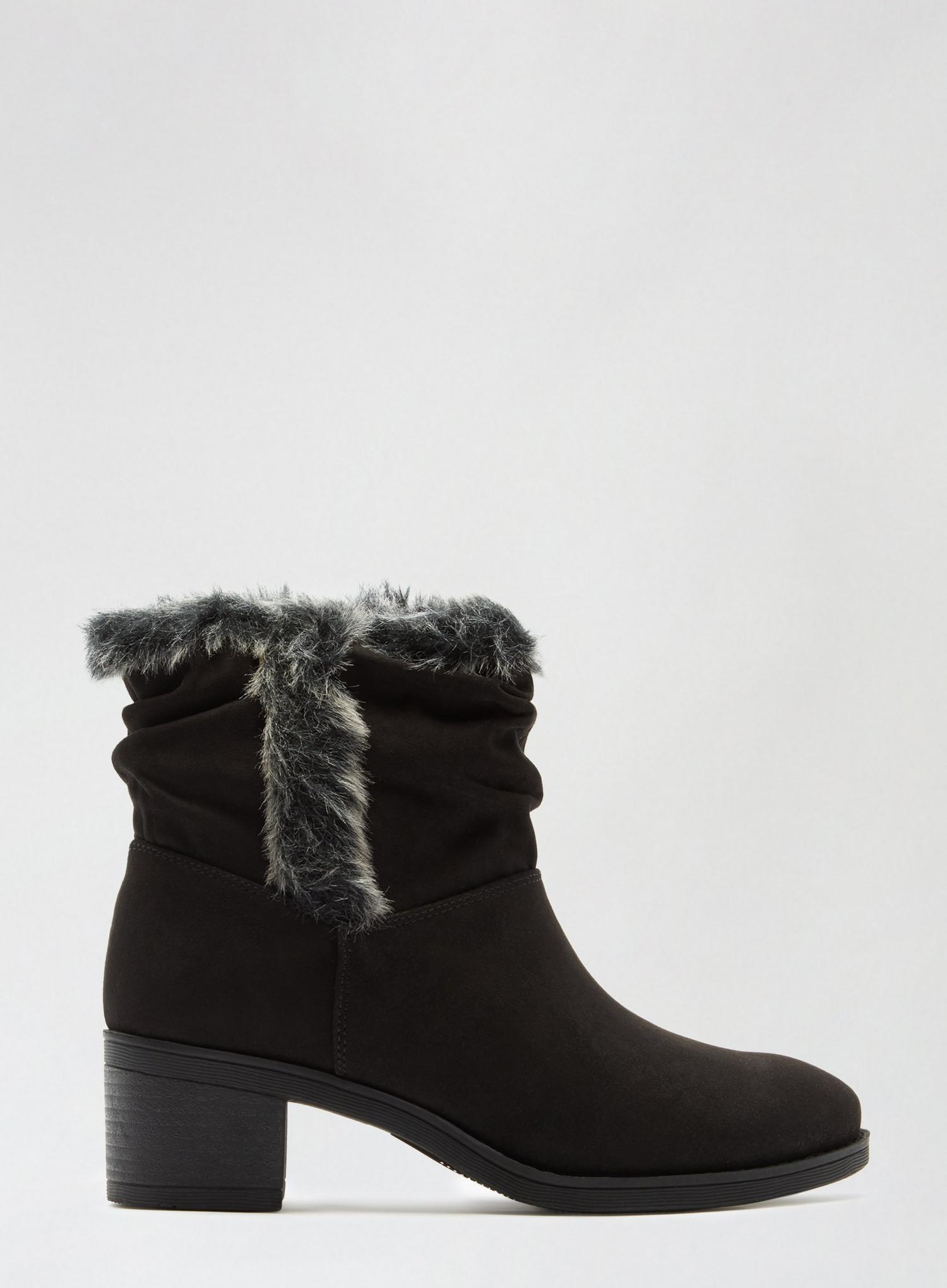 105 Black Madrid Rouched Boots image number 2