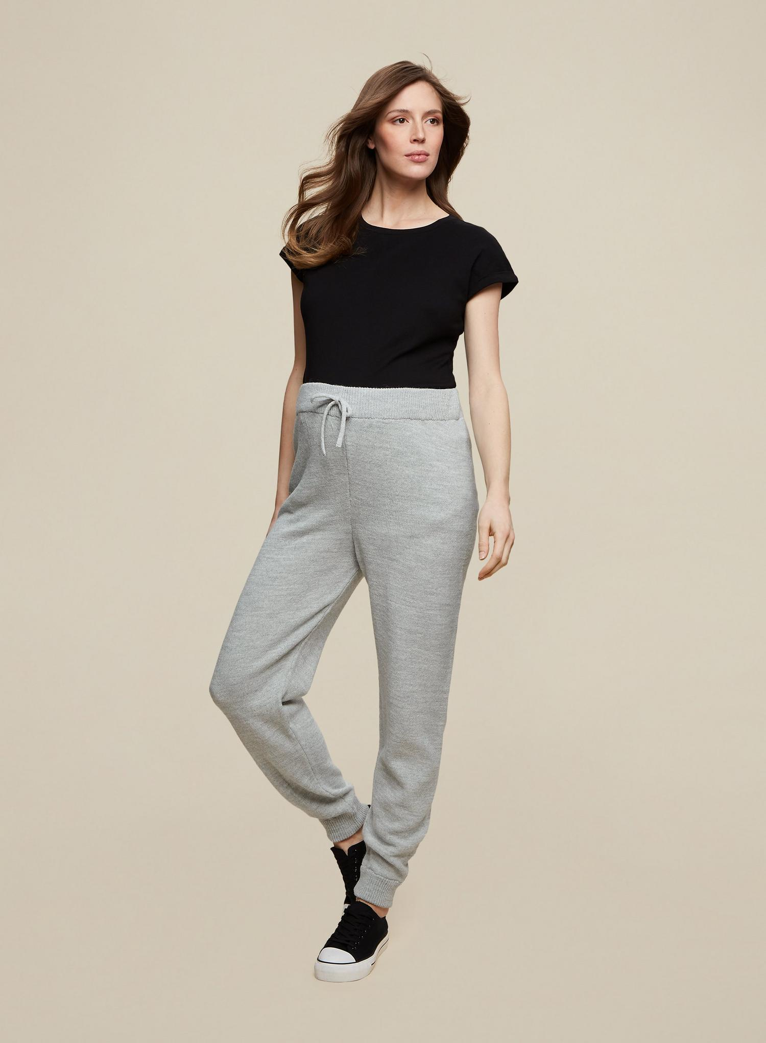 131 Maternity Grey Joggers image number 3