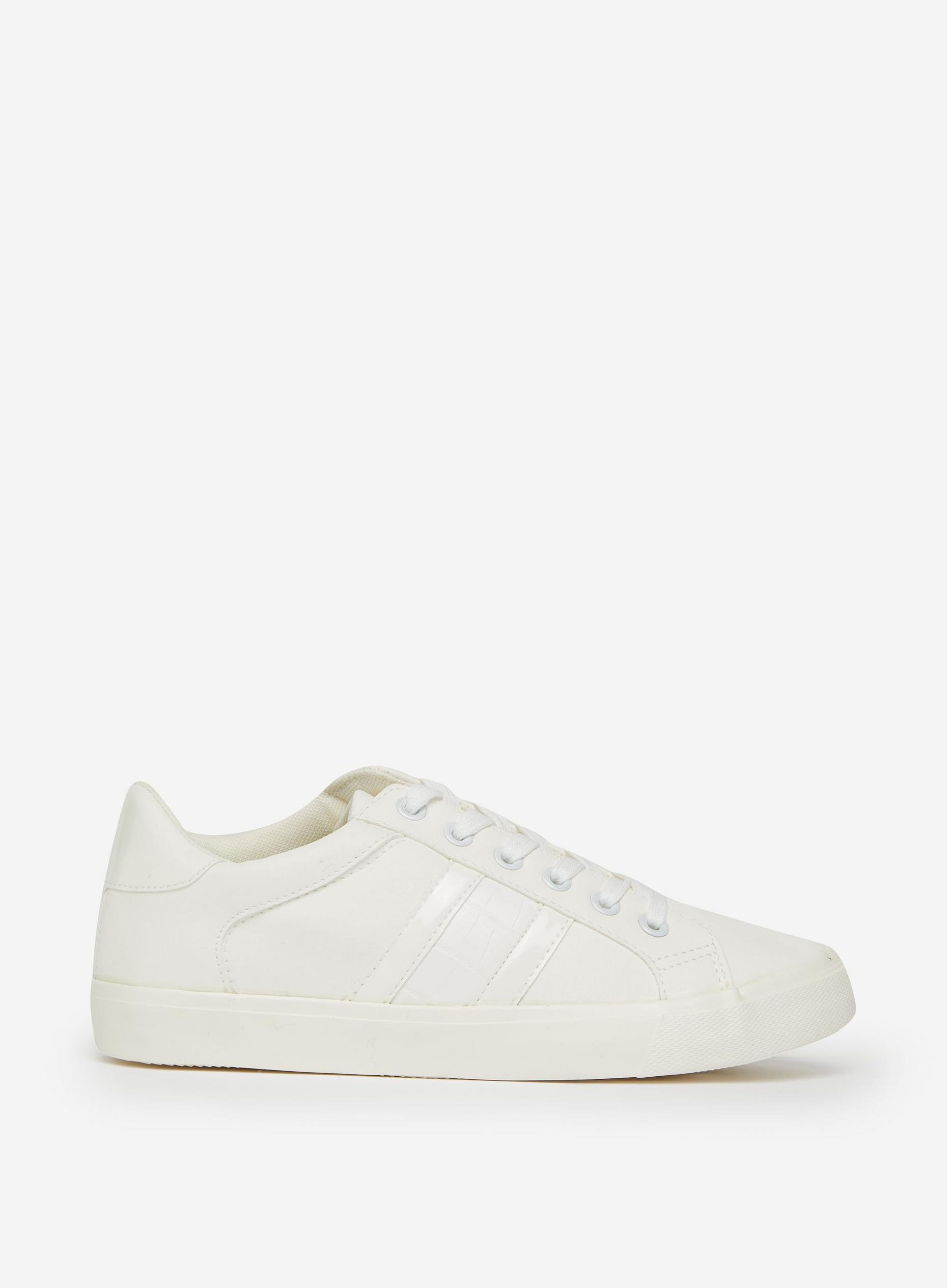 Wide Fit White Indeed Trainers