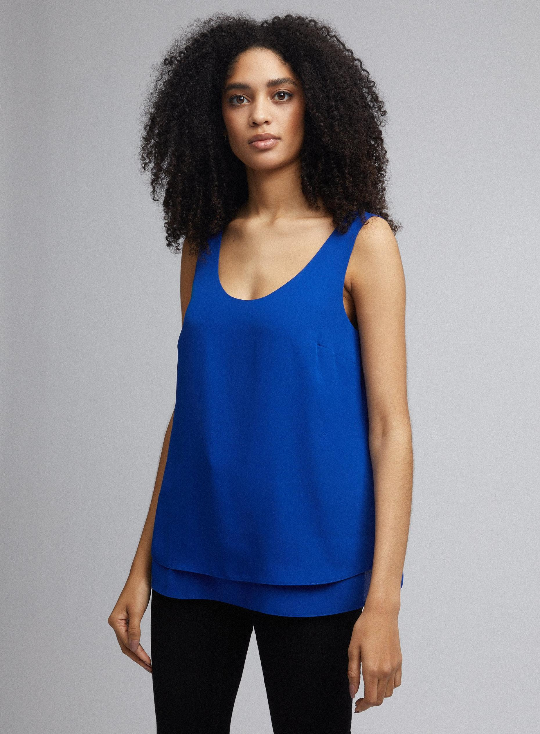 Cobalt Sleeveless Camisole Top