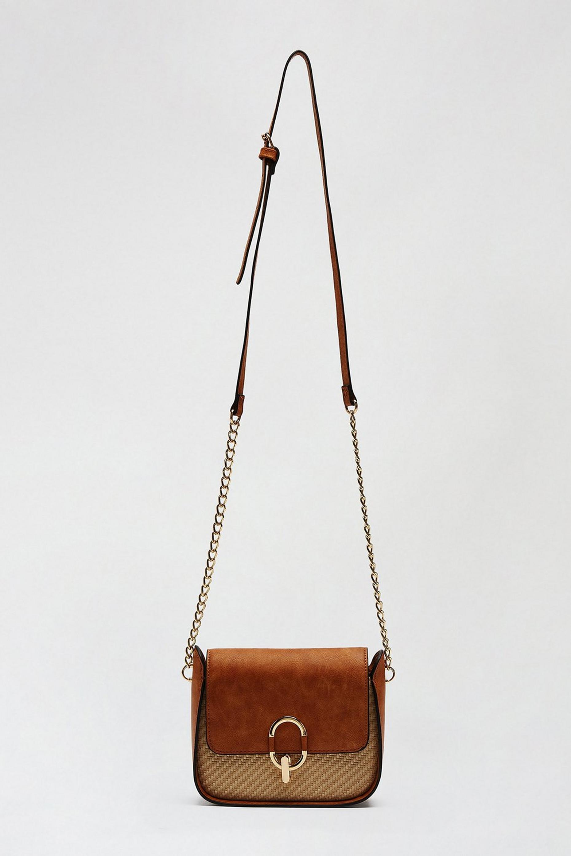 Raffia Ring Saddle Bag