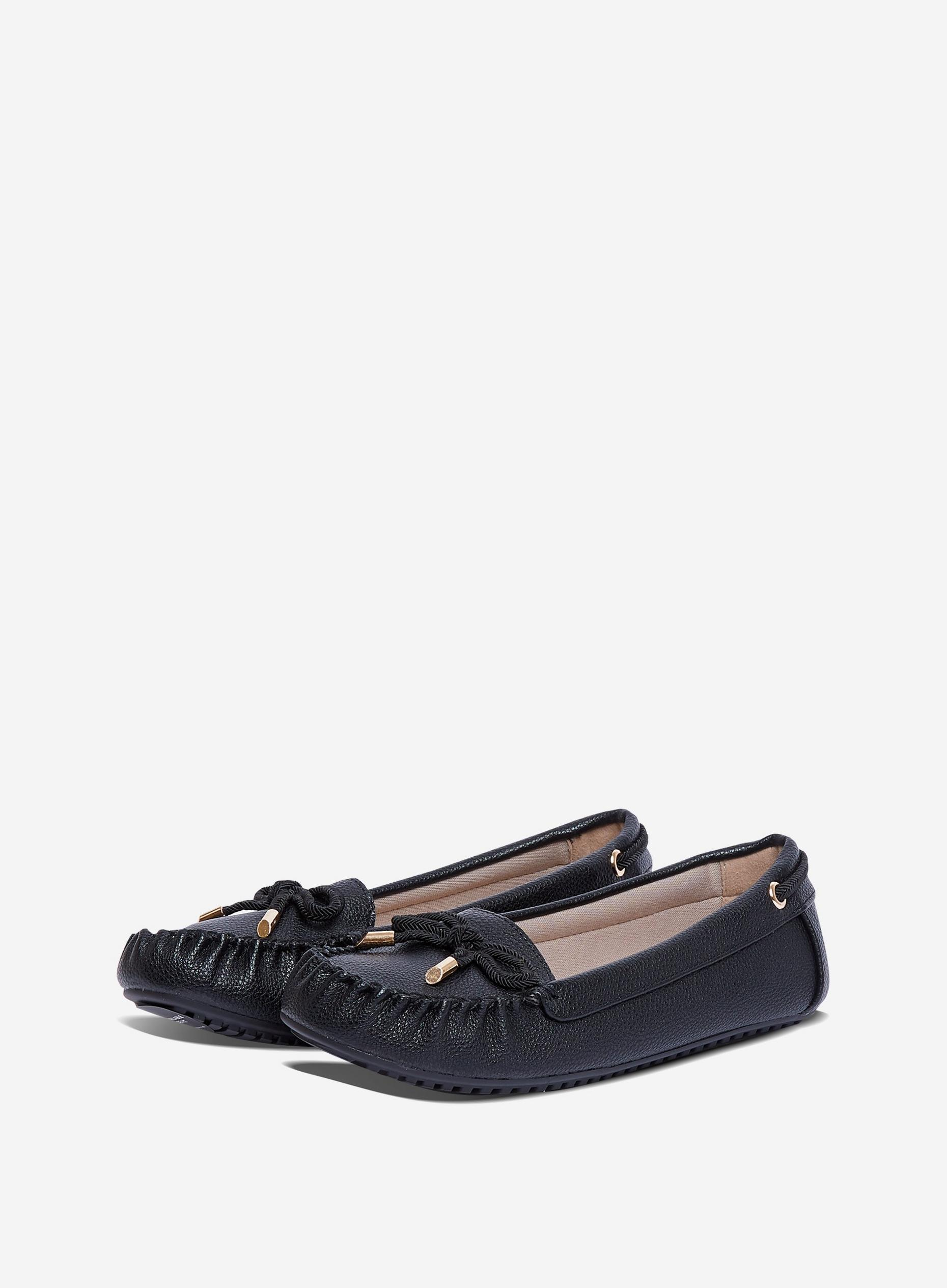 Black Comfort Levi Loafers