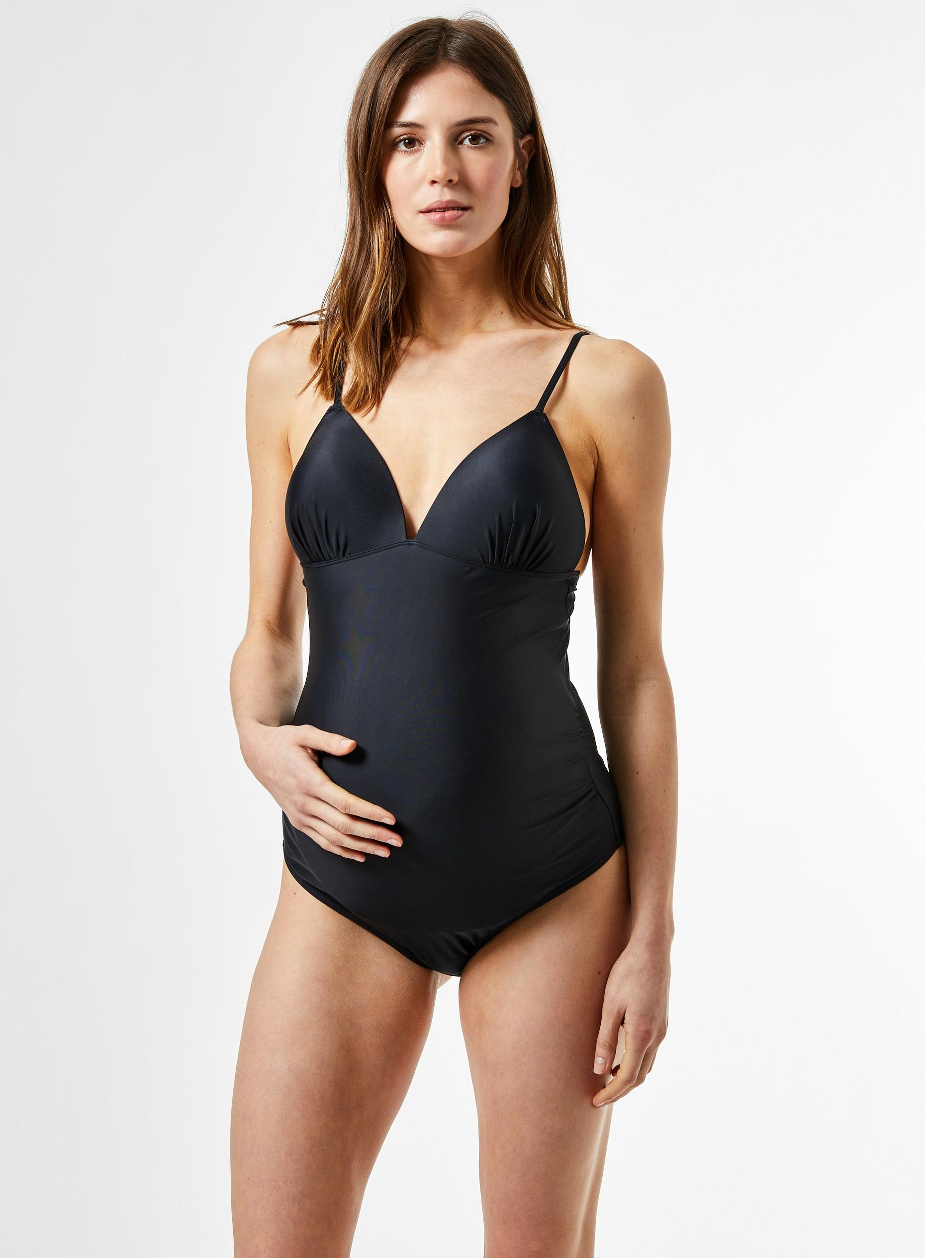 Maternity Black Swimsuit
