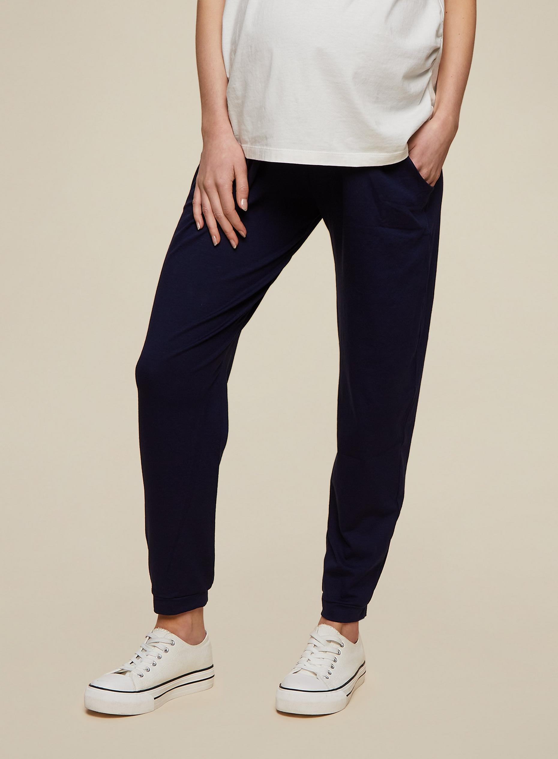 Maternity Navy Overbump Joggers