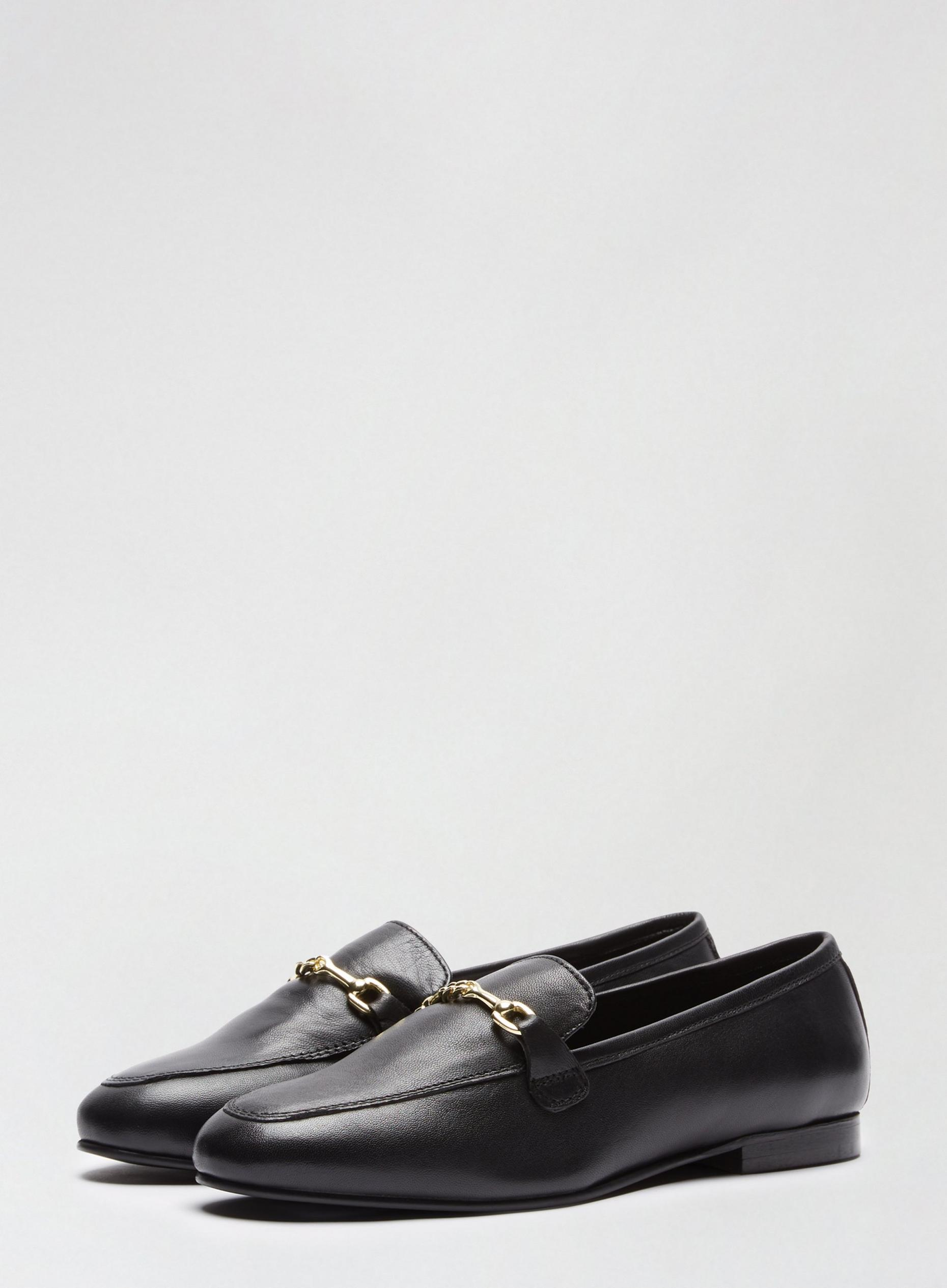 Leather Black Liza Loafers