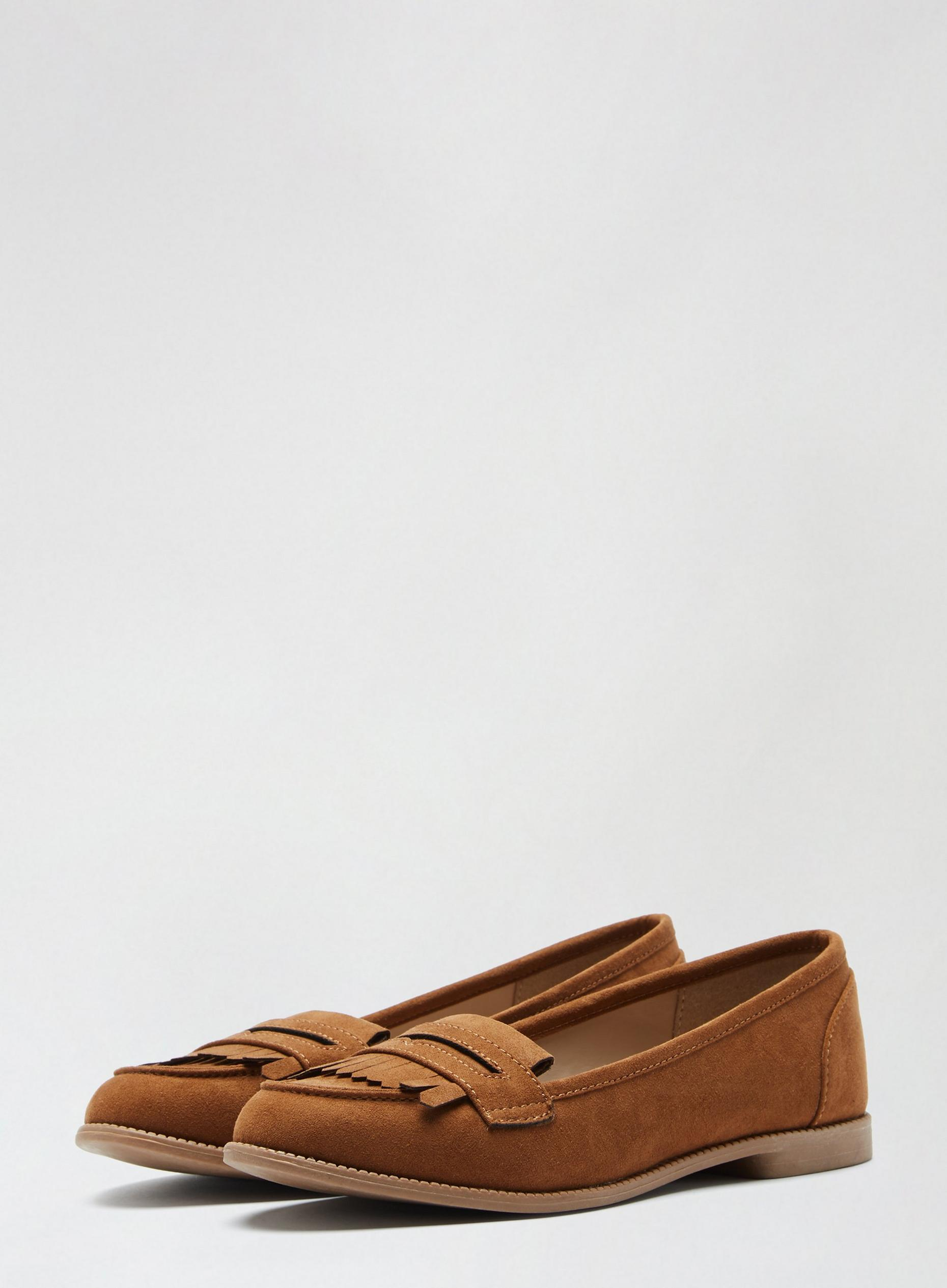 Tan Leo Loafers