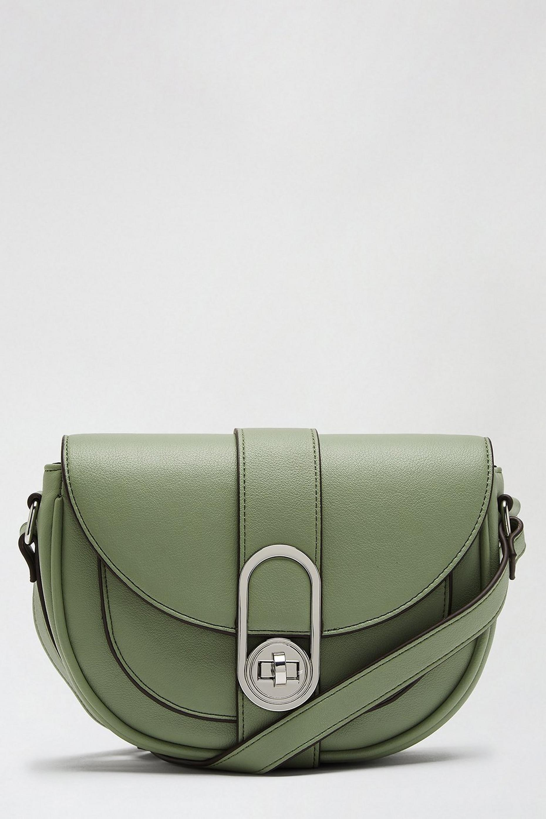 Mint Lock Saddle Bag