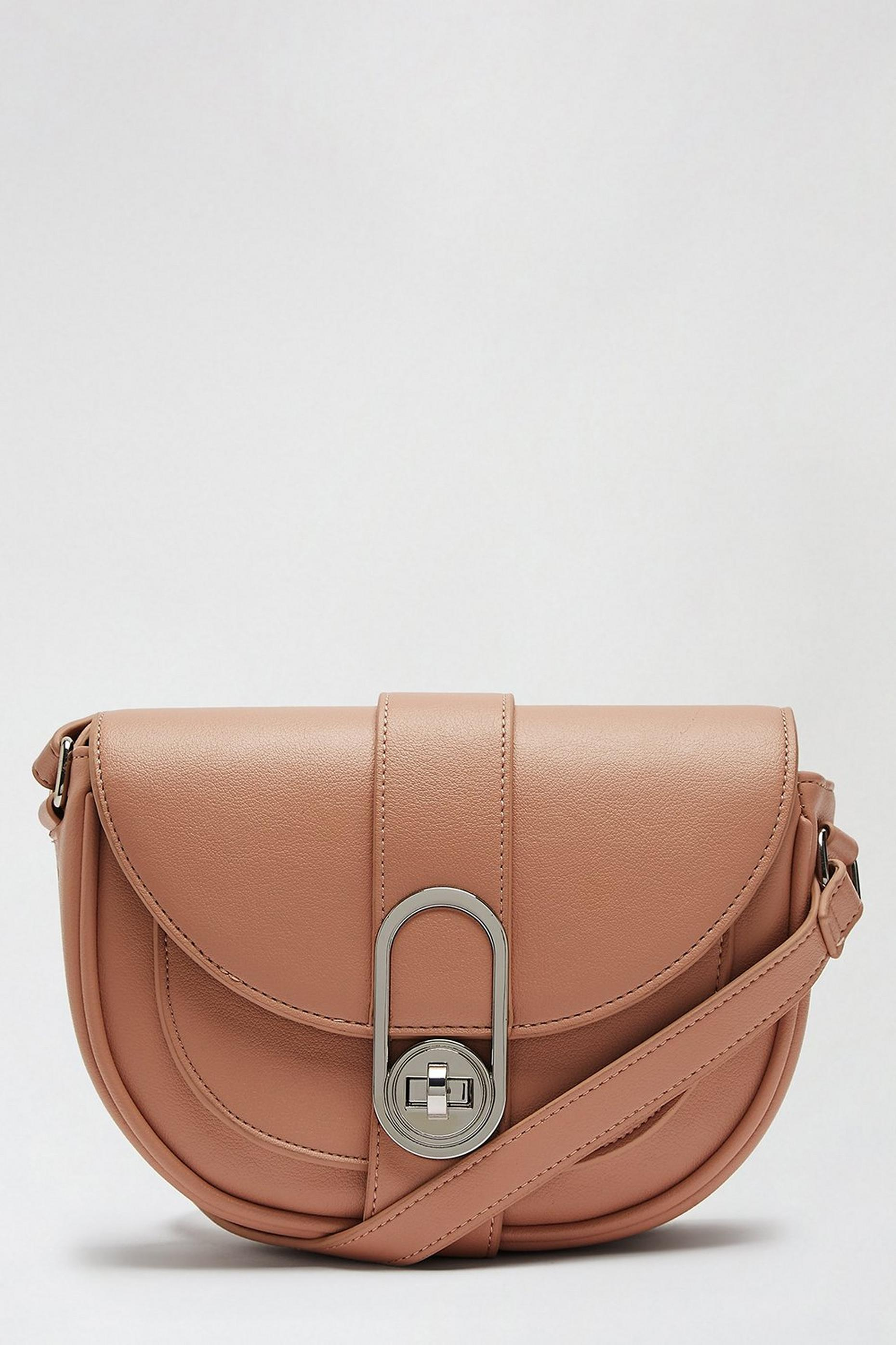 Nude Twistlock Saddle Bag