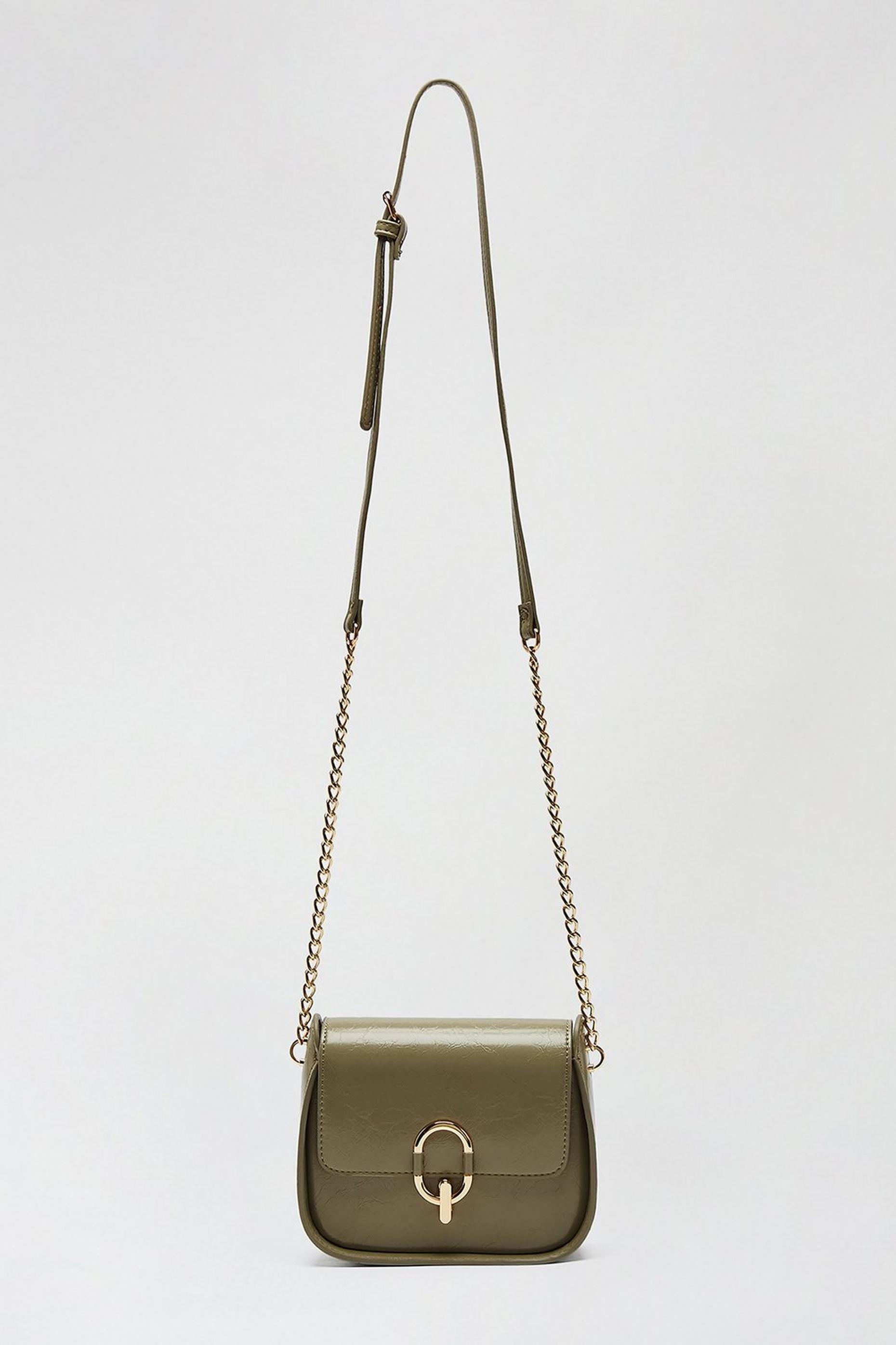 Sage Oval Ring Saddle Bag