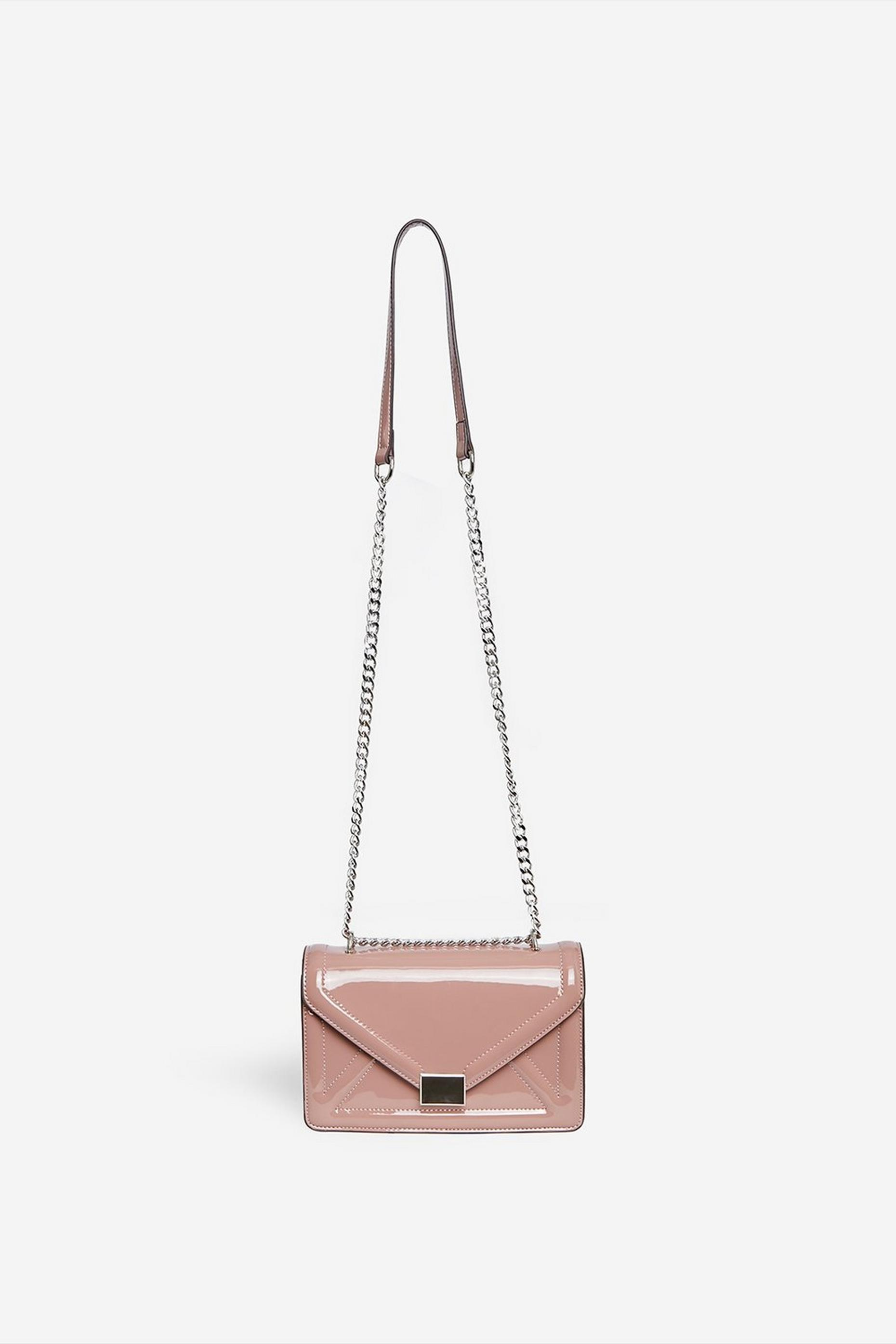 Pink Envelope Boxy Cross Body Bag