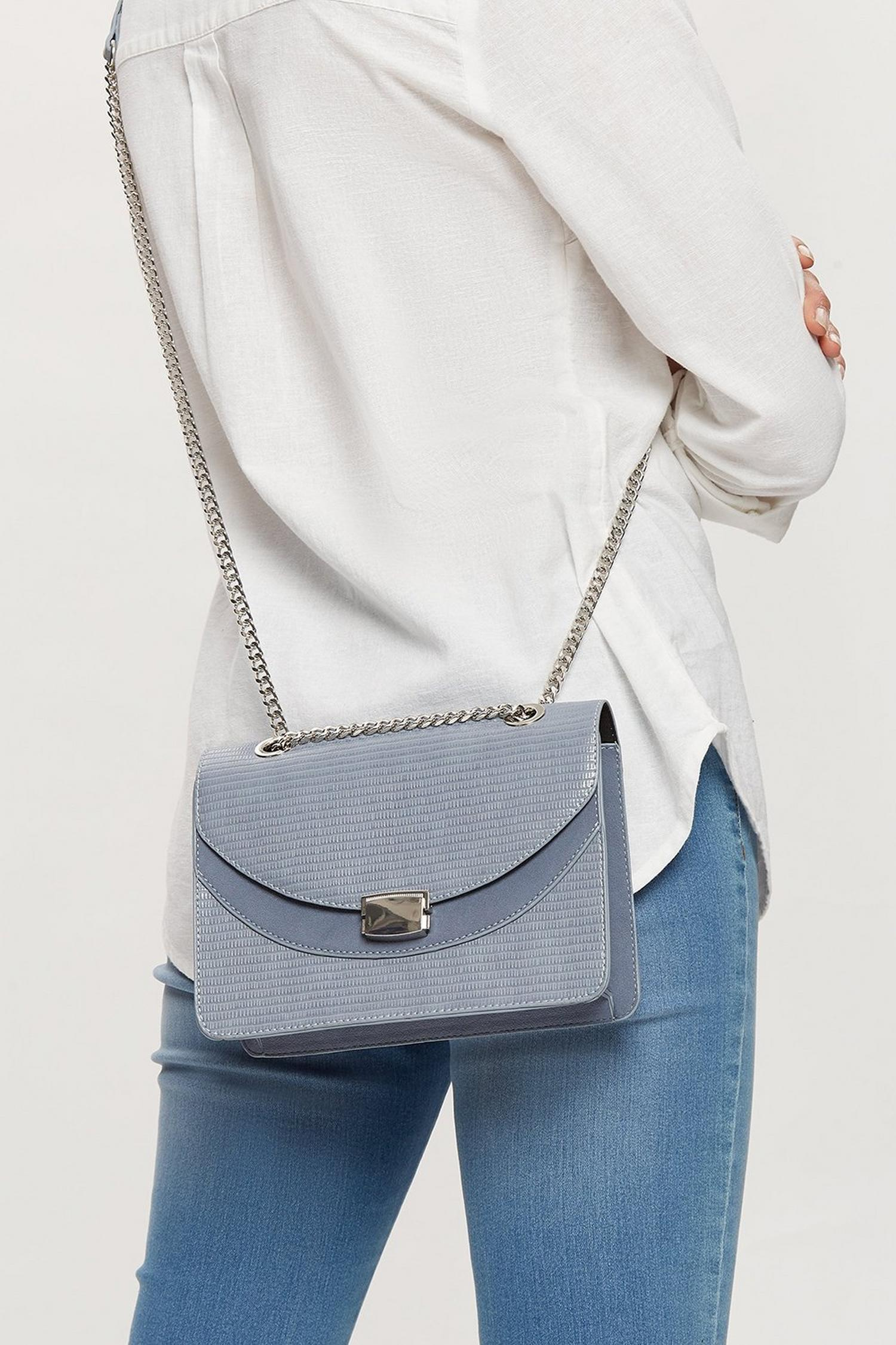 106 Blue cross body bag  image number 1