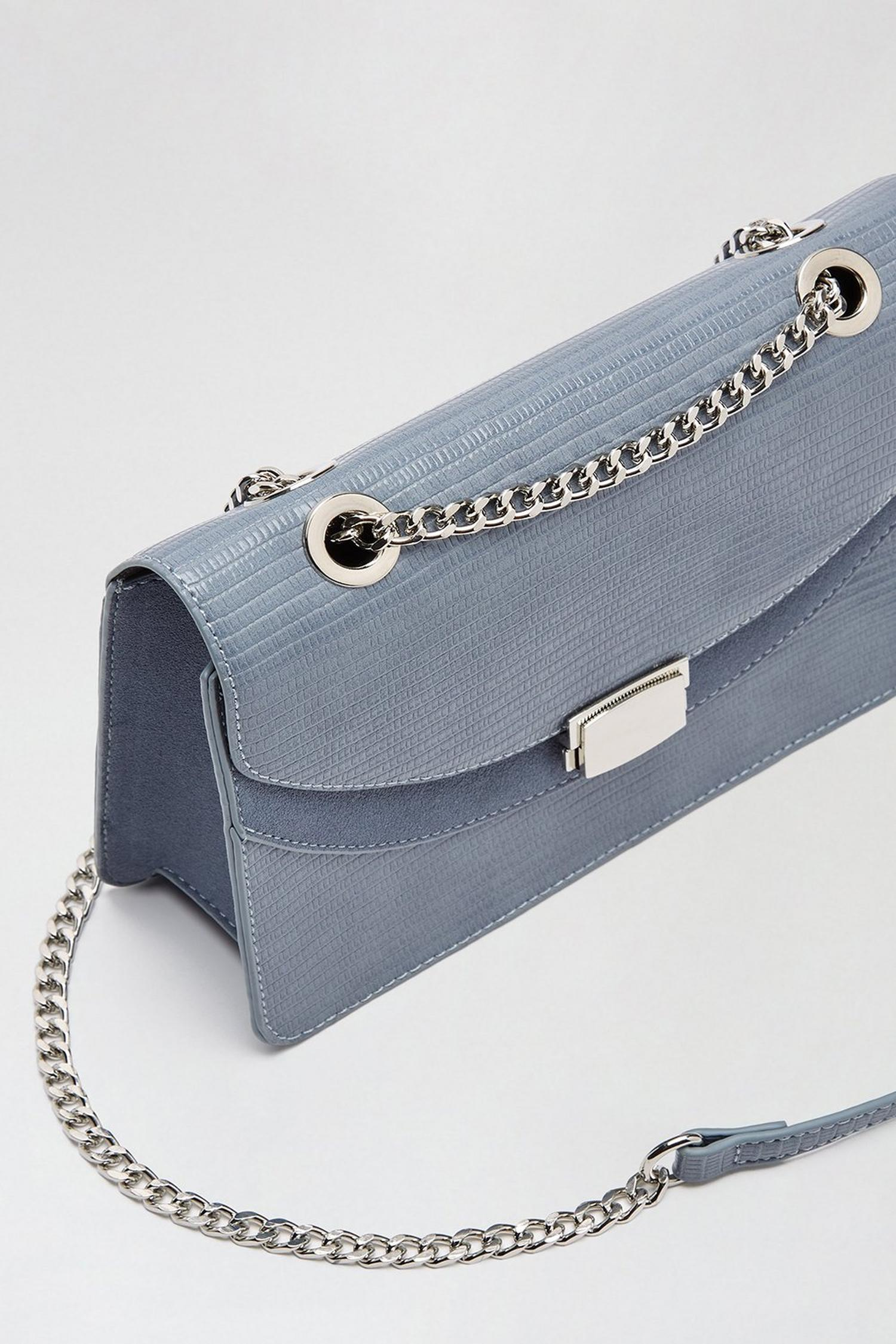 106 Blue cross body bag  image number 2