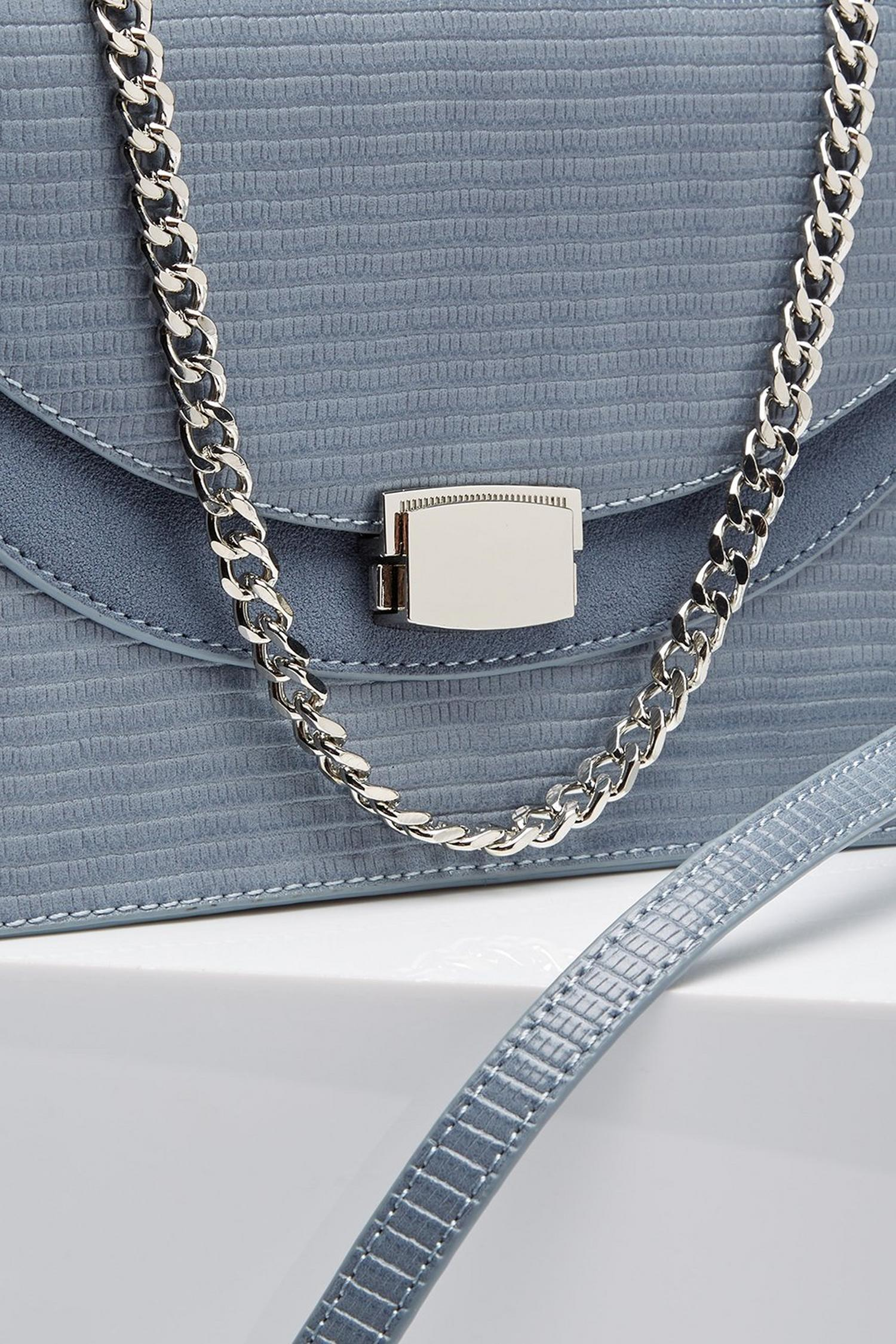 106 Blue cross body bag  image number 3