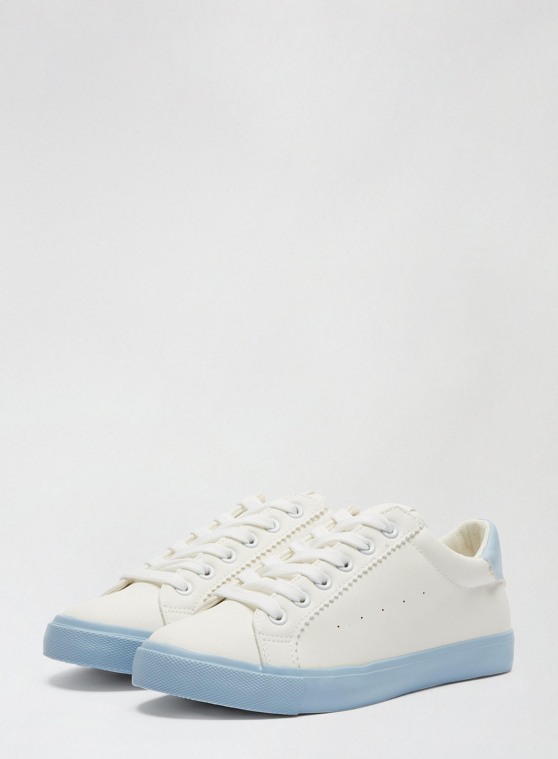 White and Blue Inara Trainers