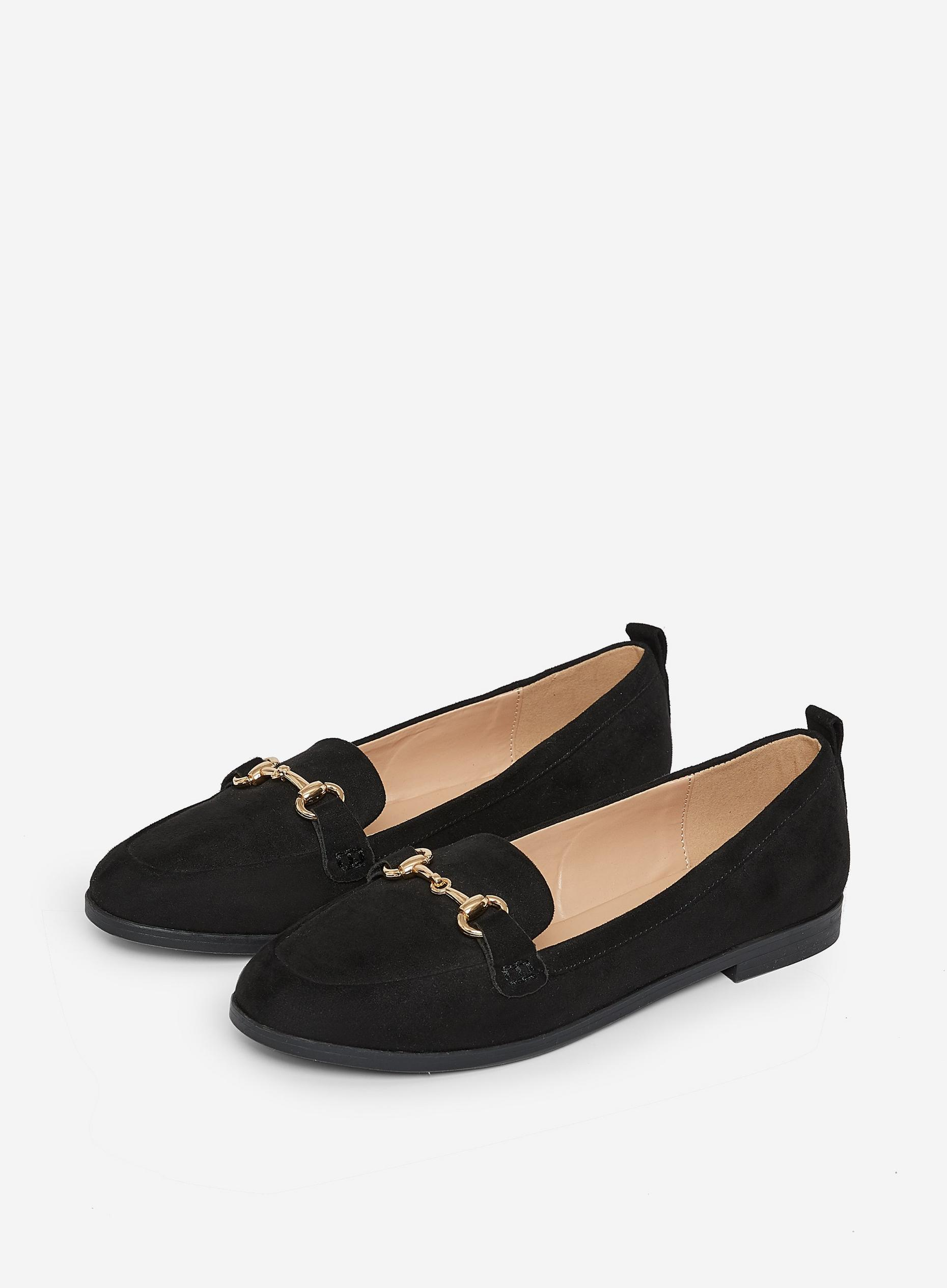 Black Lula Loafers