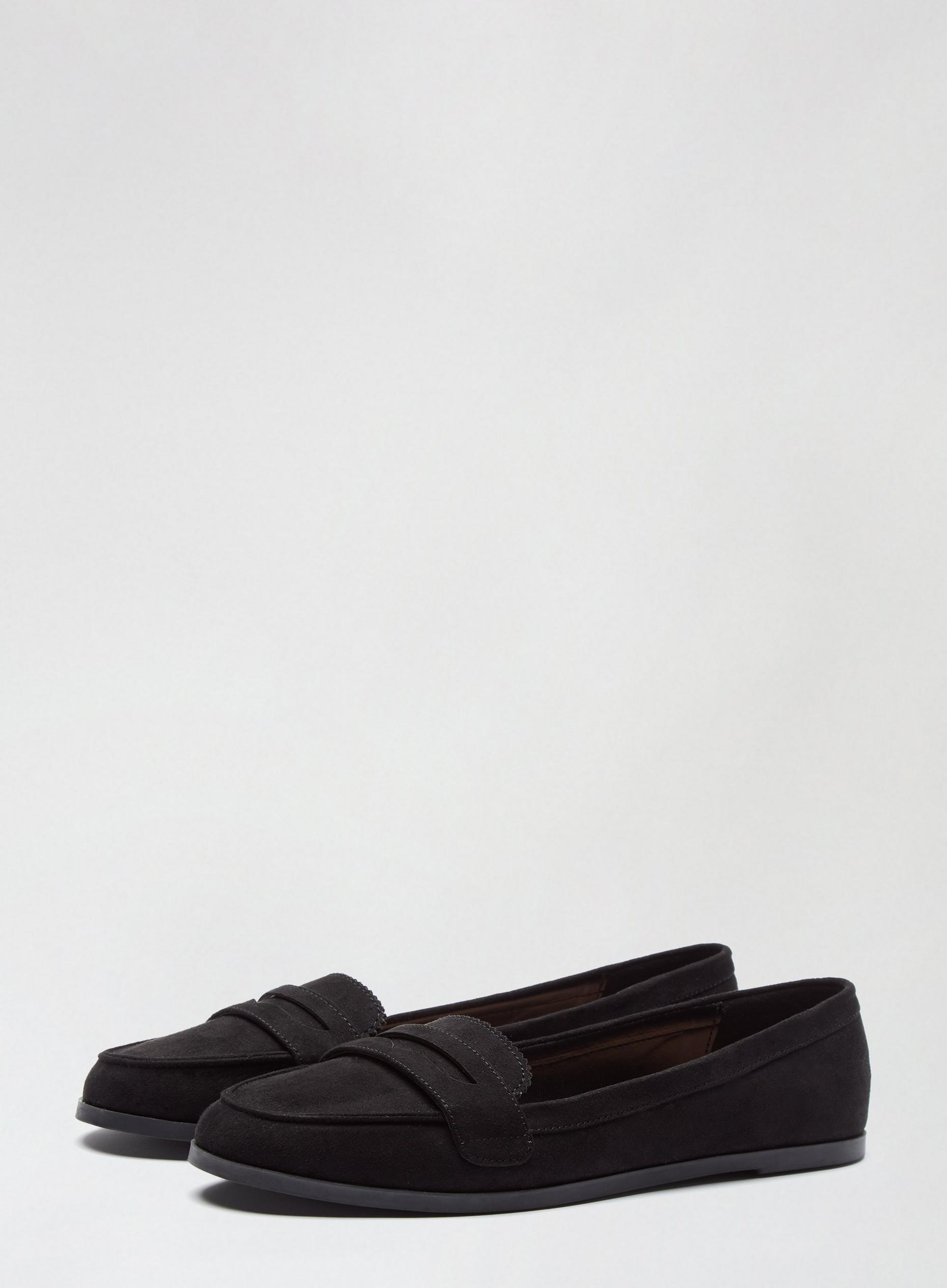 Black Laura Loafer