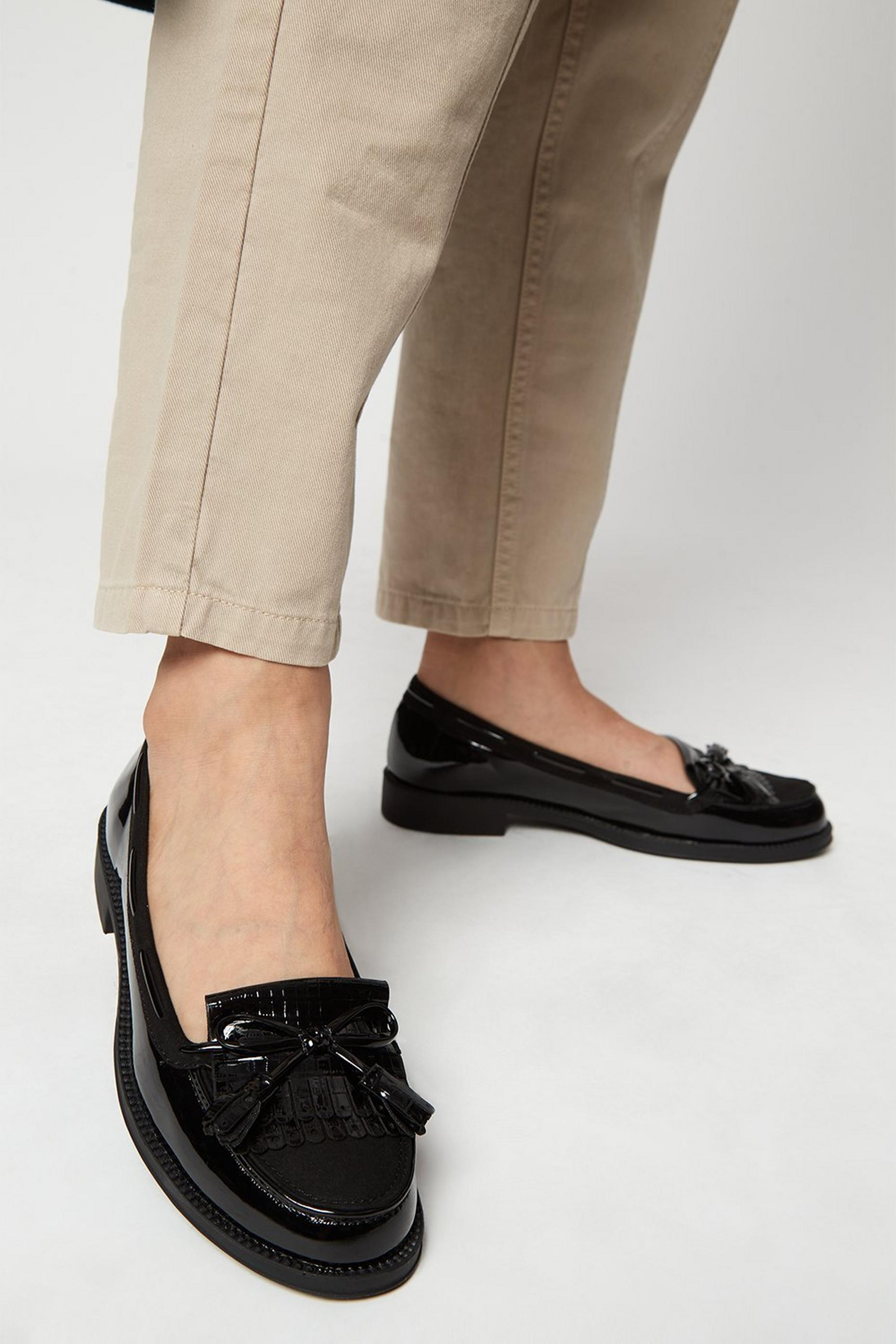 Black Lexy Loafer