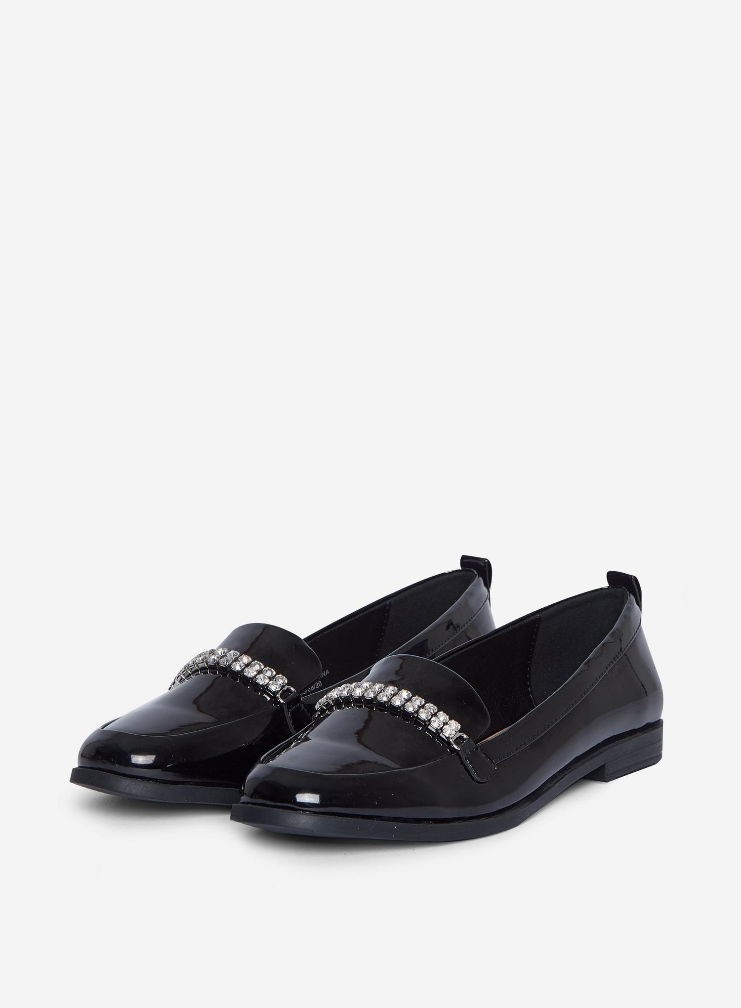 105 Black Lightning Loafers image number 1
