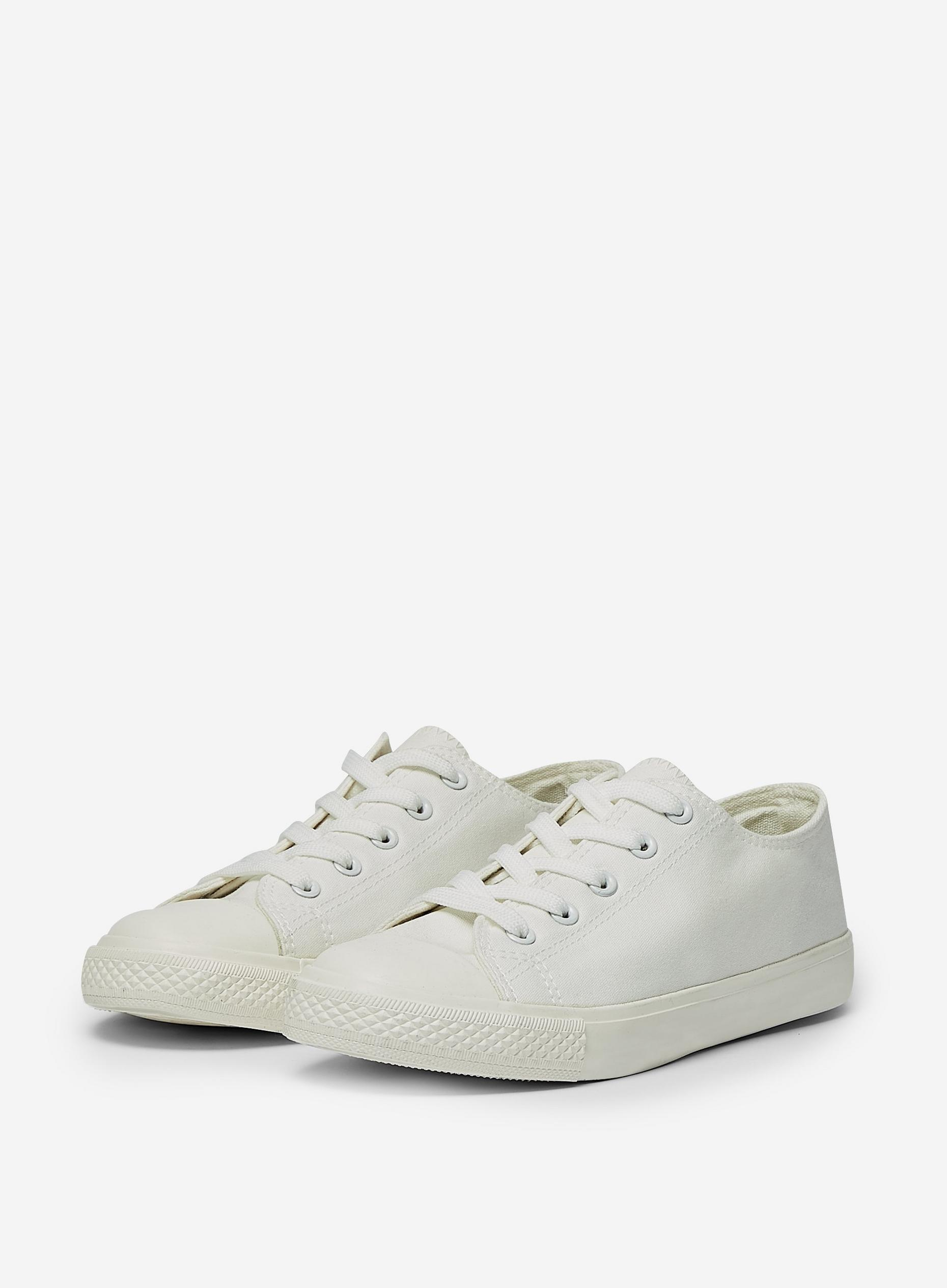 Wide Fit White Icon Trainers