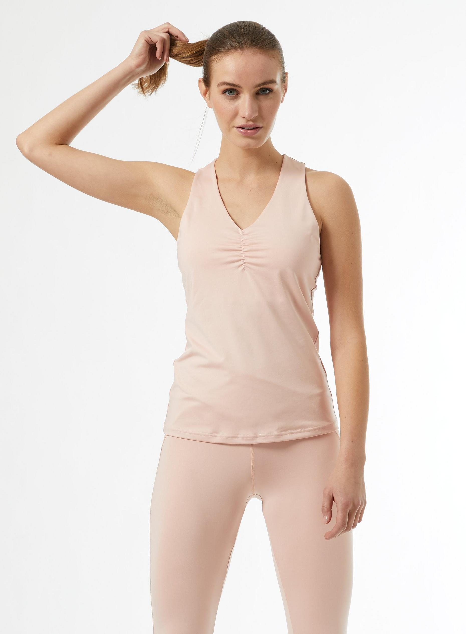 Ruched Side Yoga Vest