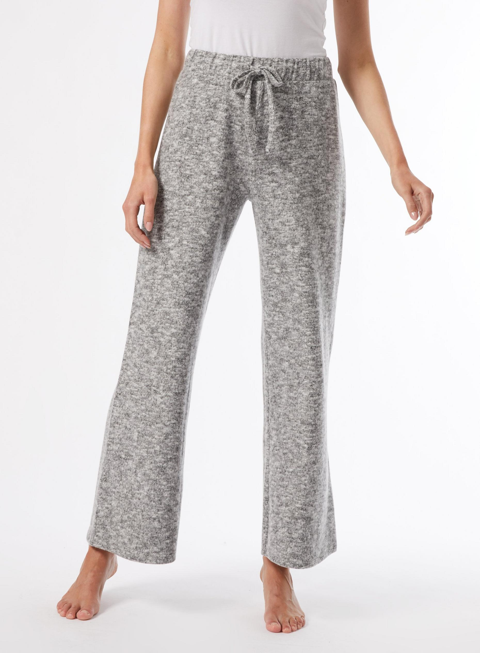 Grey Soft Touch Trousers