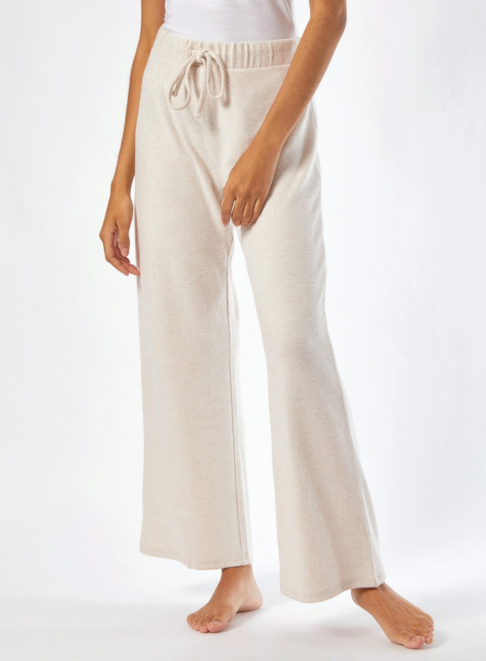 Beige Soft Touch Trousers