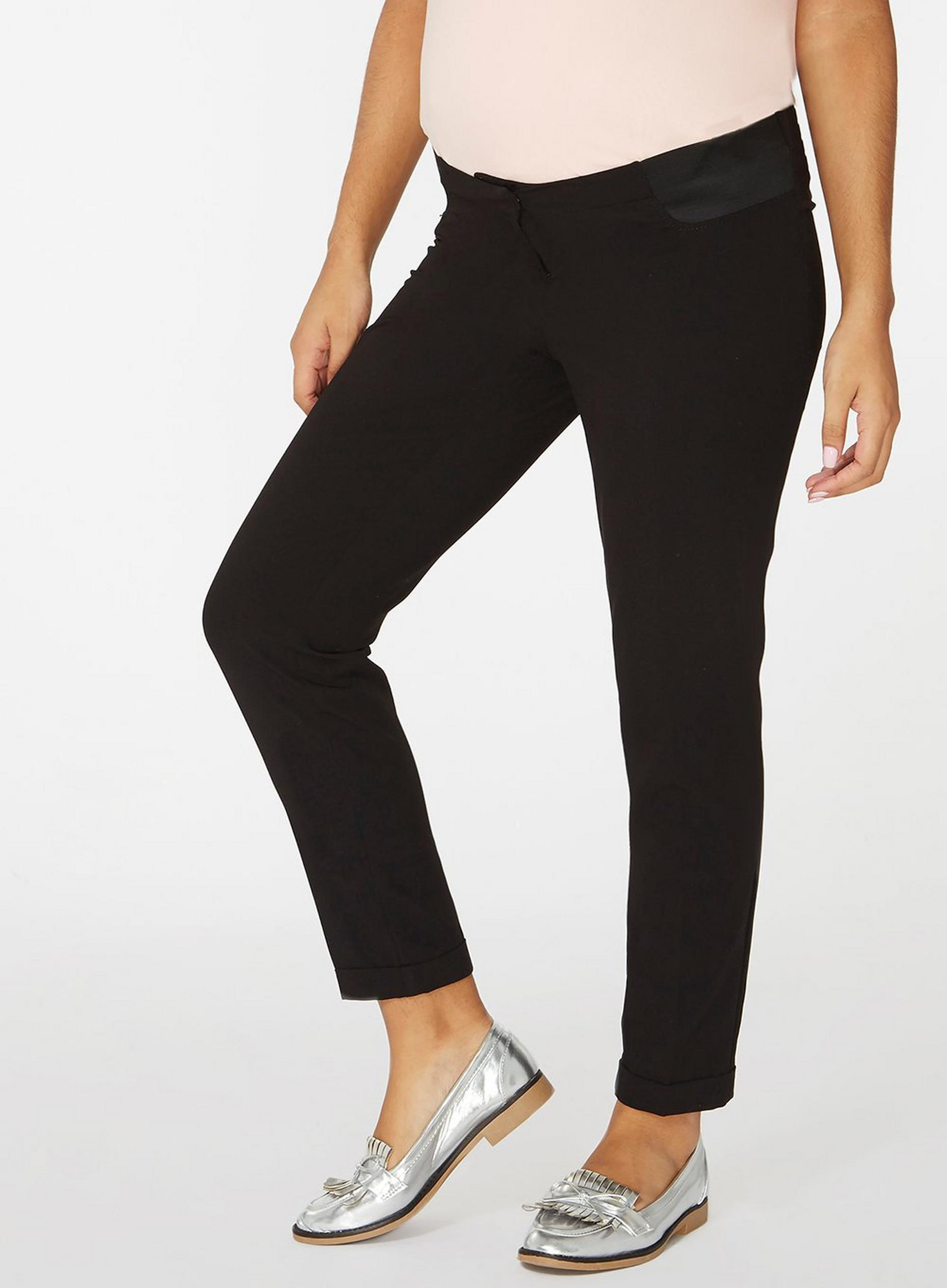 Maternity Black Under Bump Naples Trouser