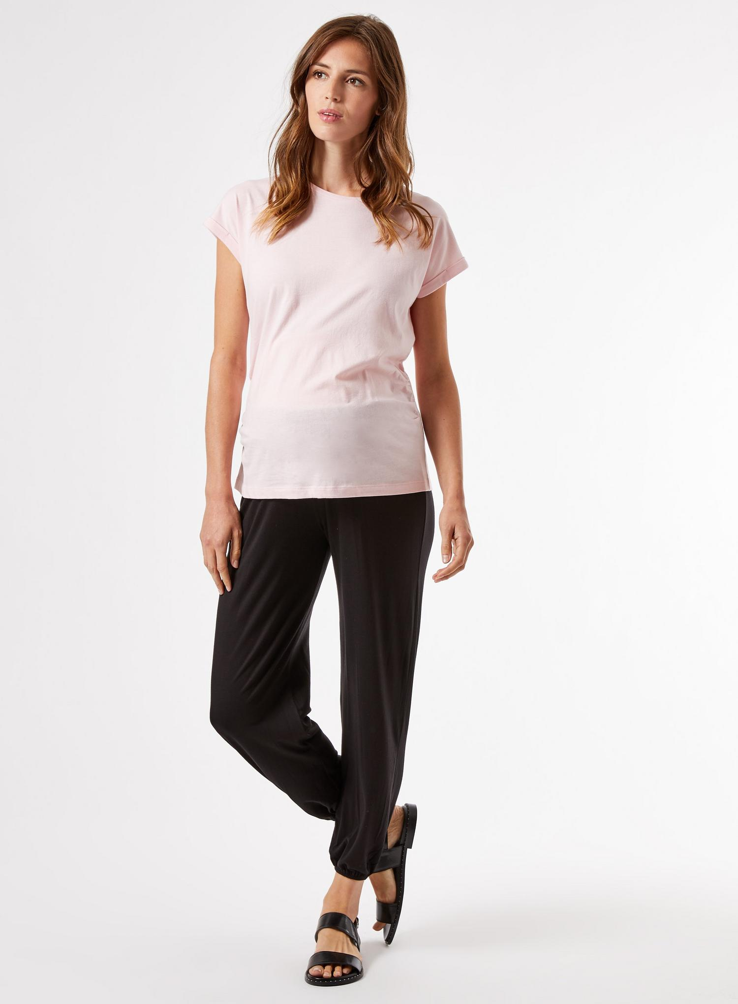105 Maternity Black Joggers image number 1