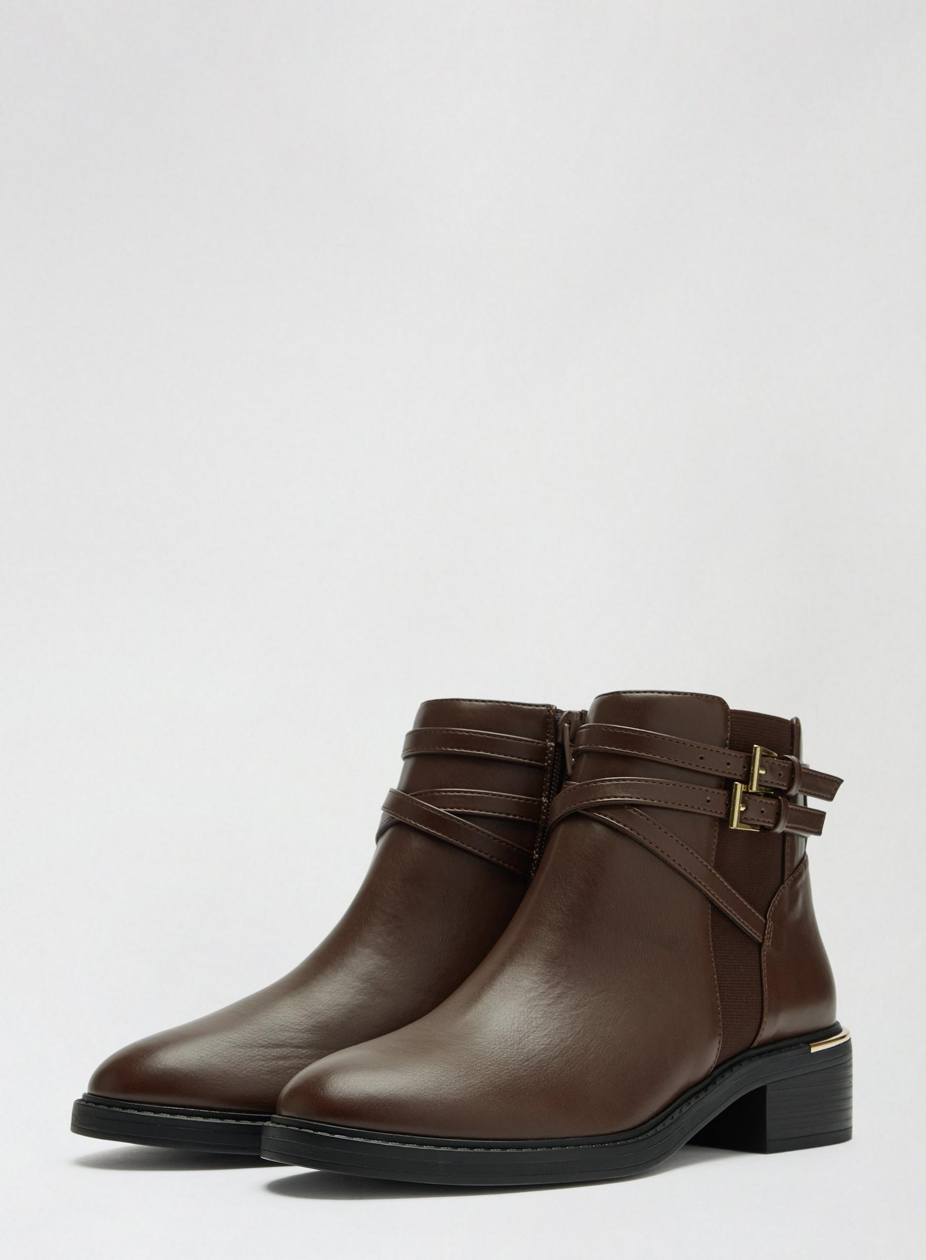 Chocolate Minkie Chelsea Boots