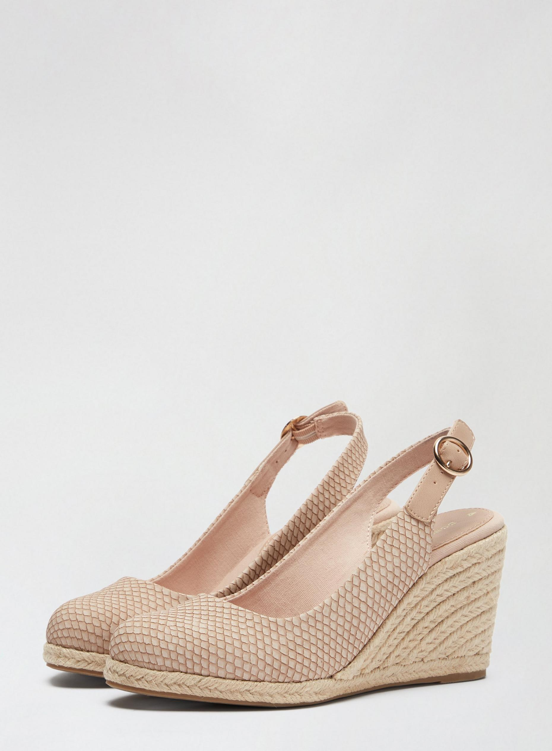 Blush Devon Court Shoes