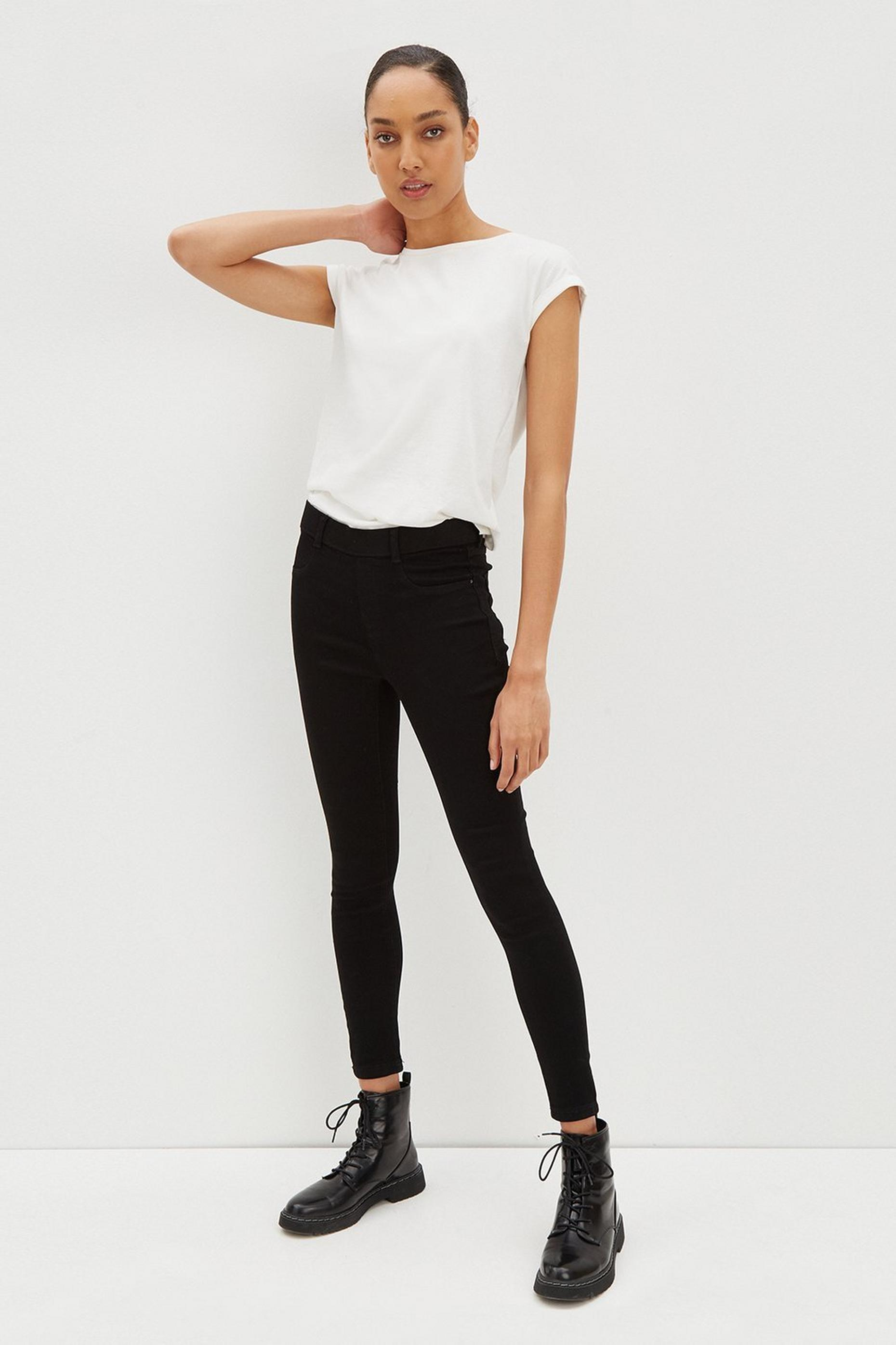 Black Regular Premium Eden Jeggings
