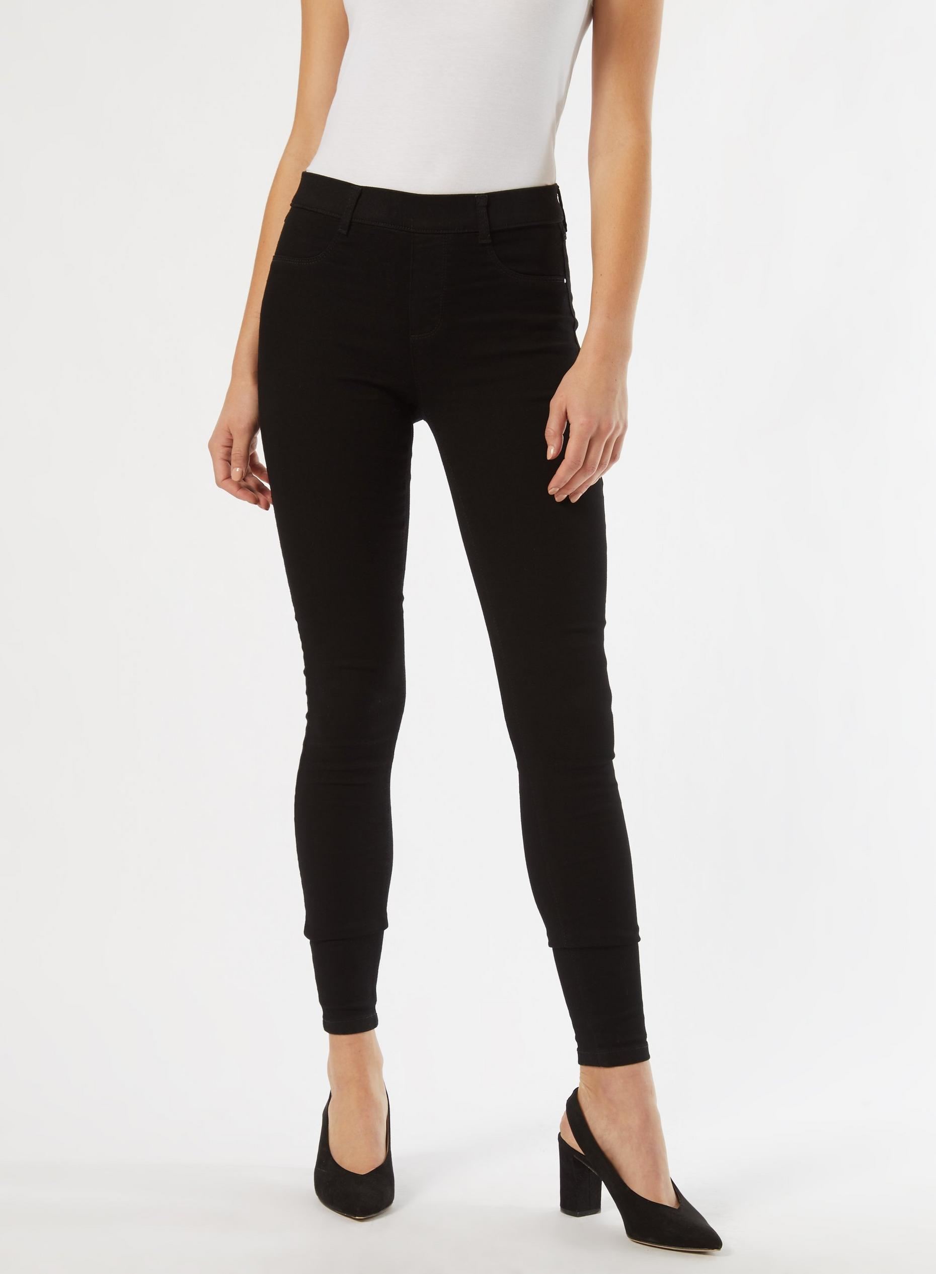 Black Long Premium Eden Jeggings