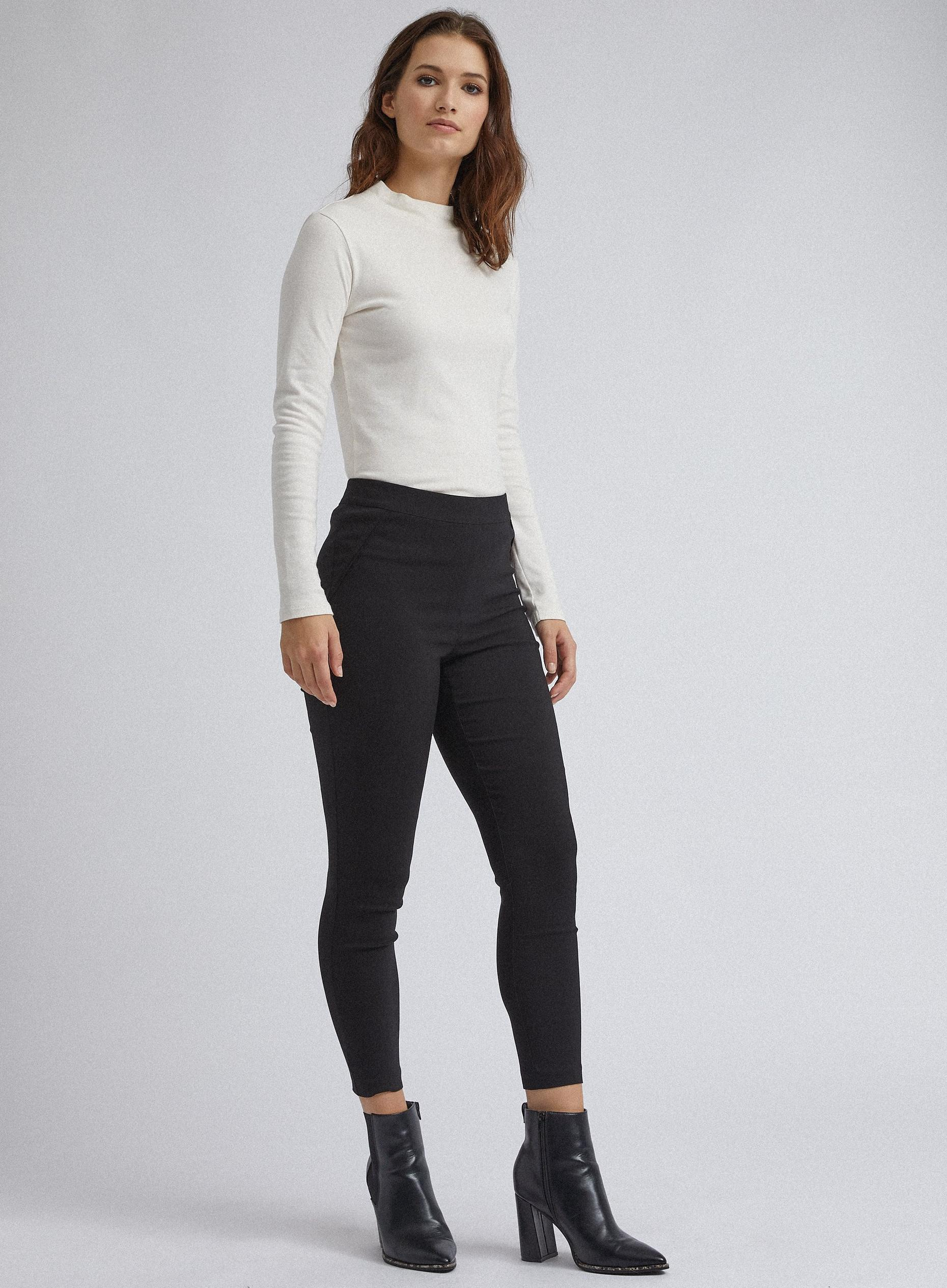 Short Black Skinny Trouser